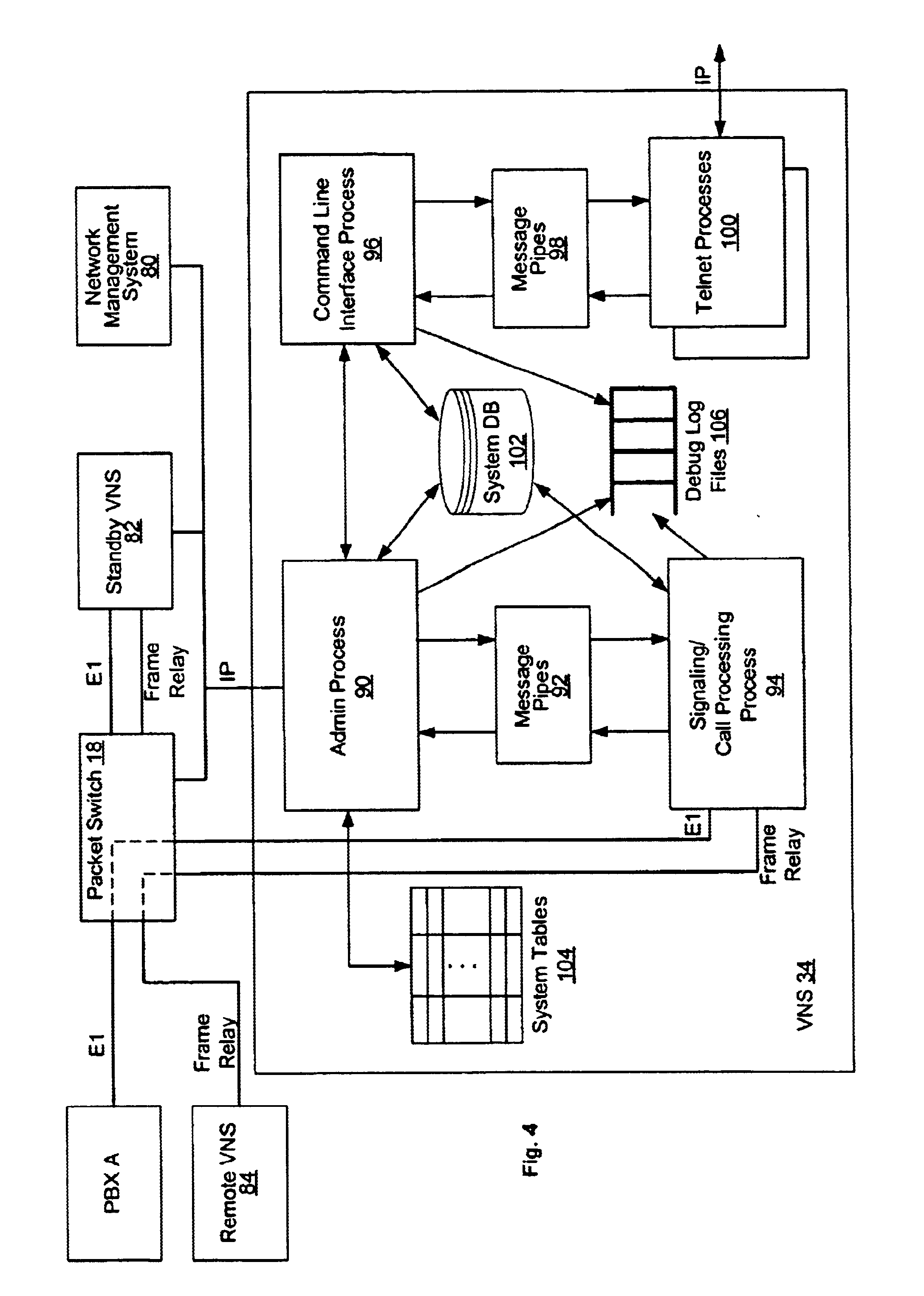 patent us6816483 - switched virtual circuit call processing  routing system