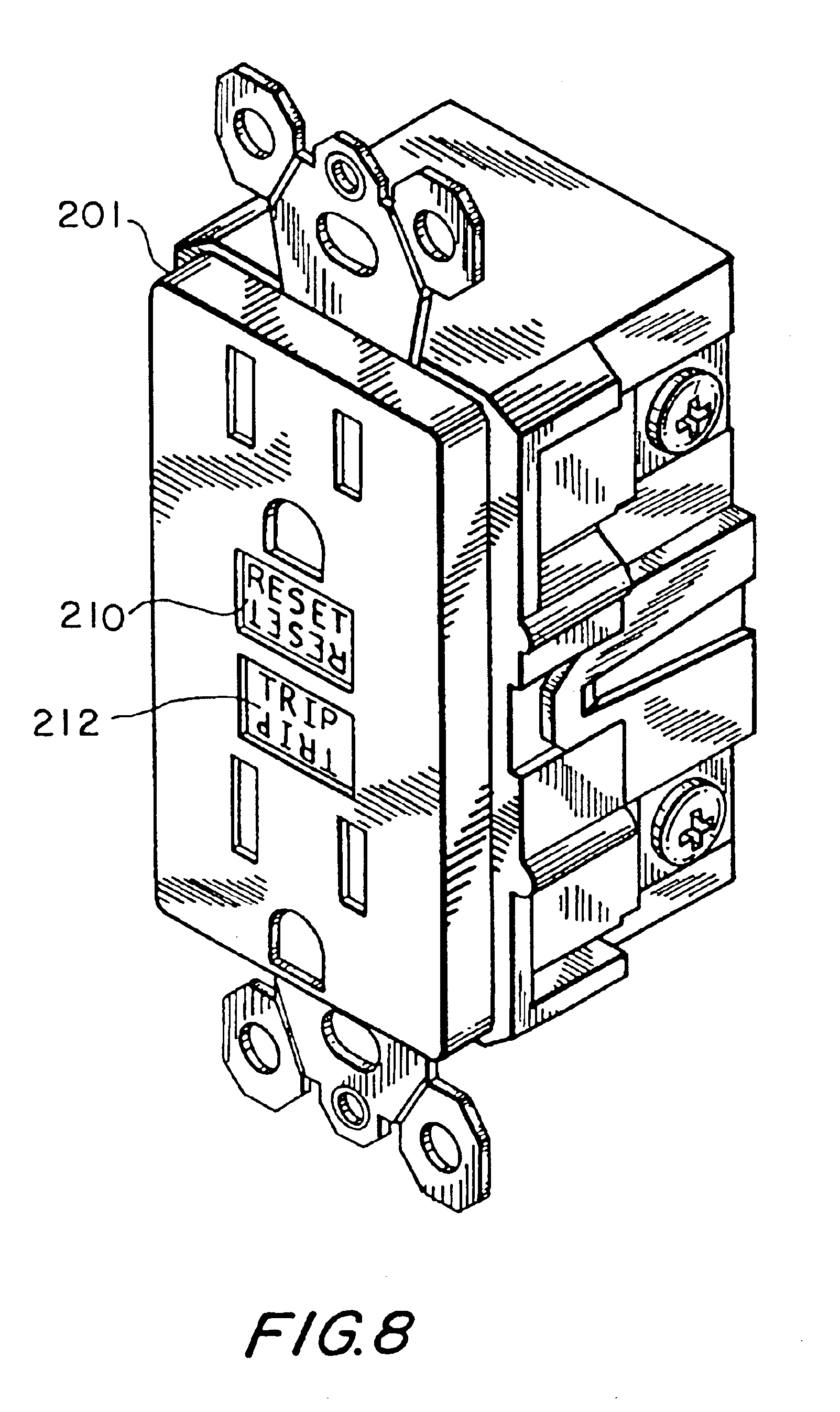 afci wiring wiring diagram database AFCI Breaker Wiring Diagram patent us6828886 reset lockout mechanism and independent trip afci wiring for house afci wiring