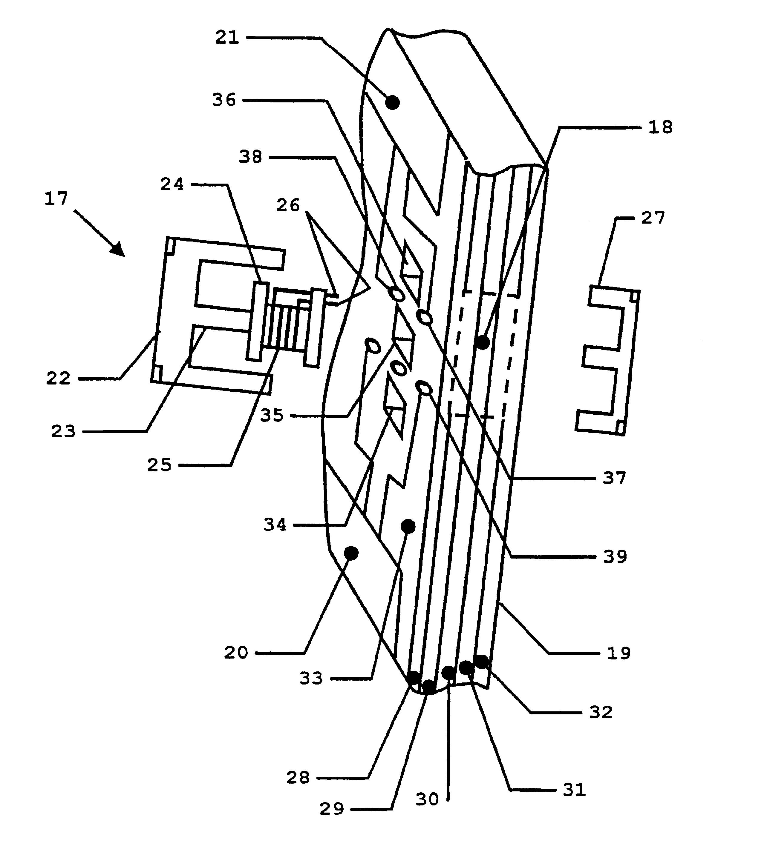 patent us6828894 - isolation transformer arrangement