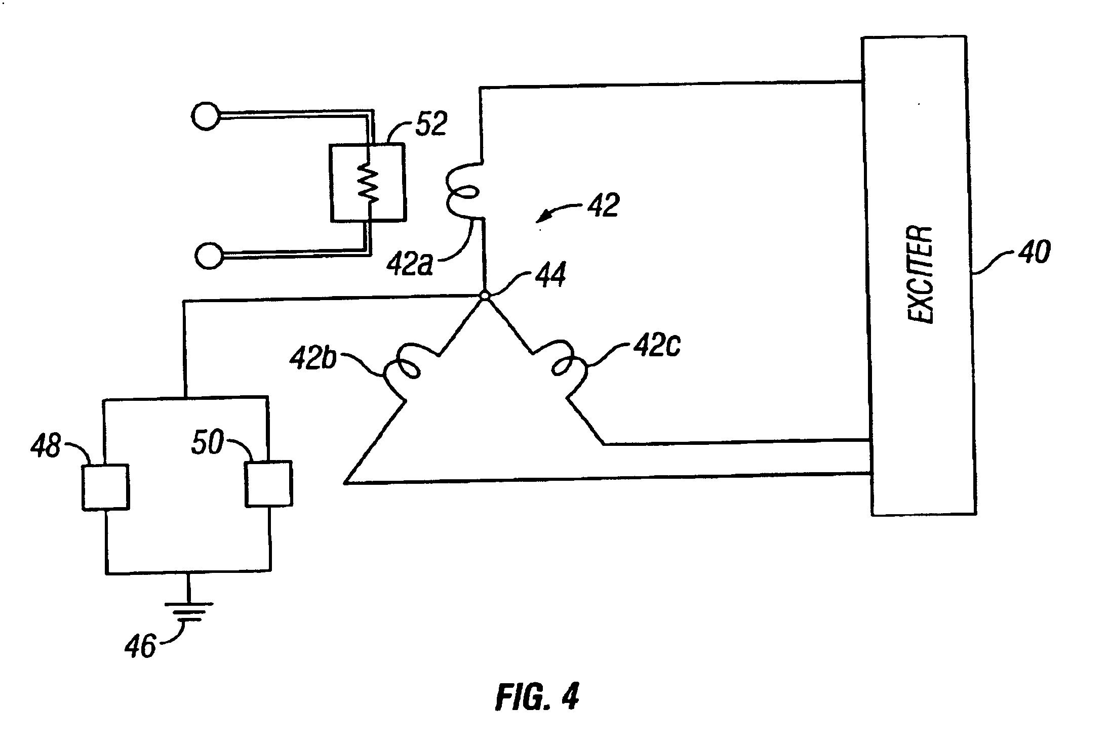 Patente Us6831388 Synchronous Compensator Plant Google Patentes Vem Motor Wiring Diagram Patent Drawing