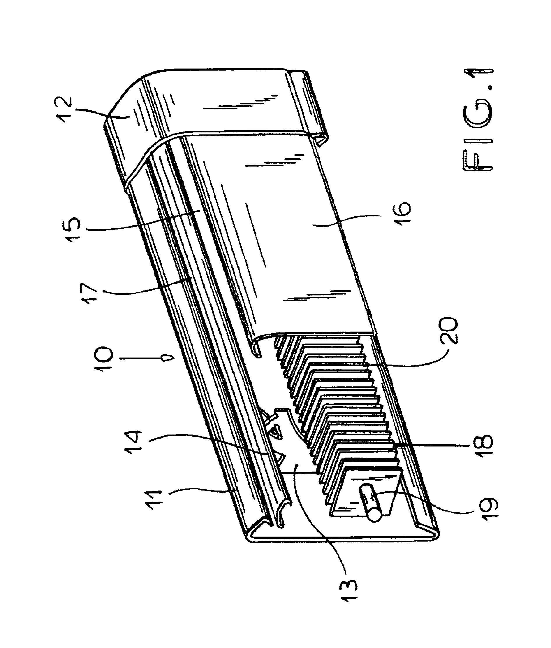 patent us6834710 pivot assembly for baseboard heater. Black Bedroom Furniture Sets. Home Design Ideas