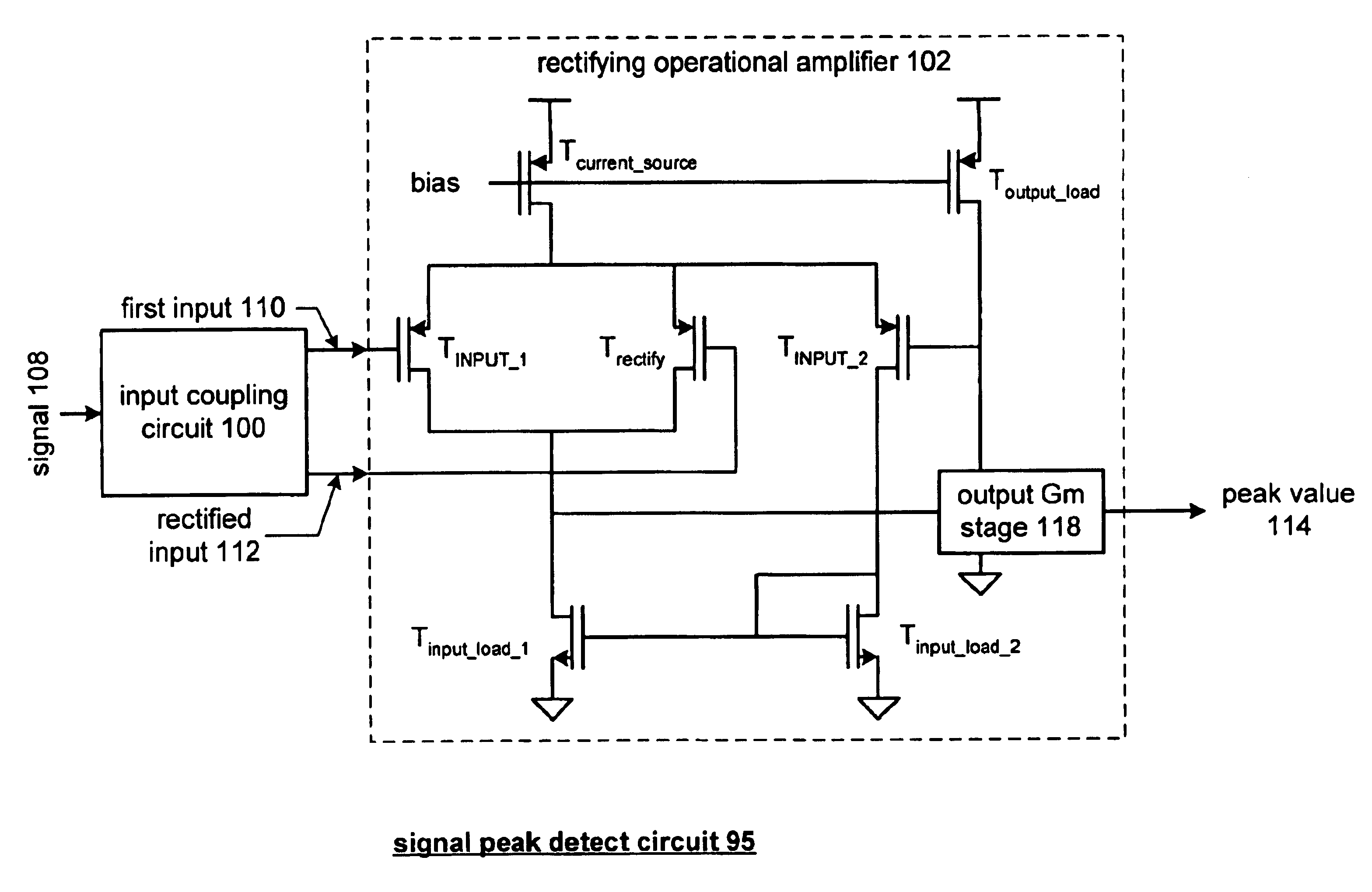 Patent Us6836156 High Frequency Signal Peak Detector Google Patents Envelope Circuit Output Drawing