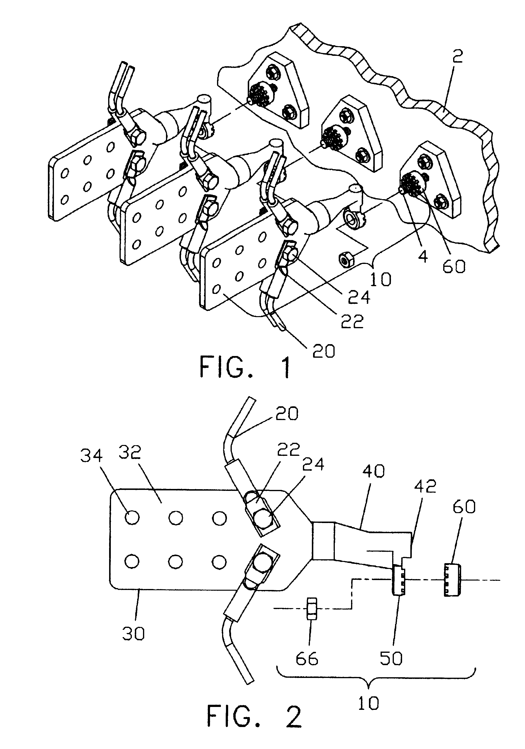 patent us6837754 fast change transformer connector patents Types of Terminal Blocks patent drawing
