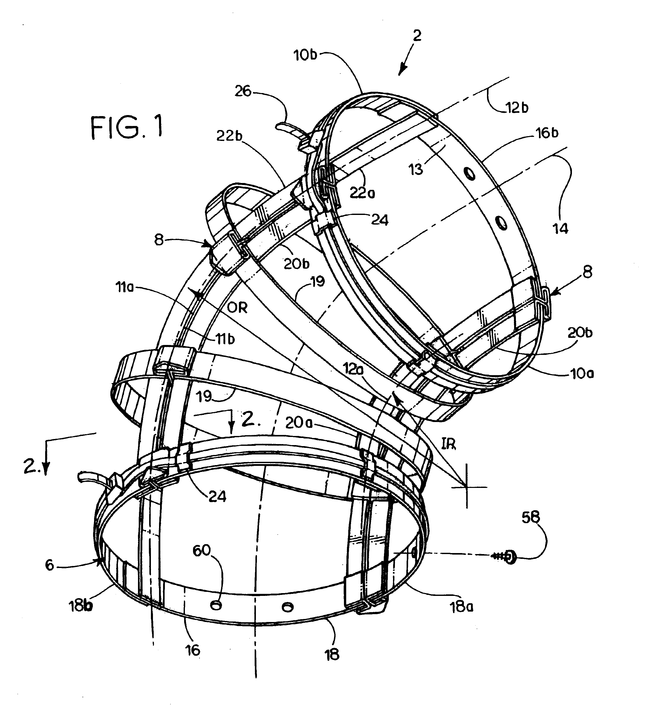 patent us6837787 - flexible duct sleeve