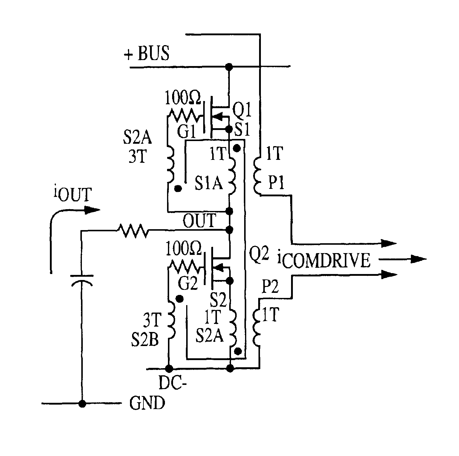 patent us6842069 - active common mode emi filters