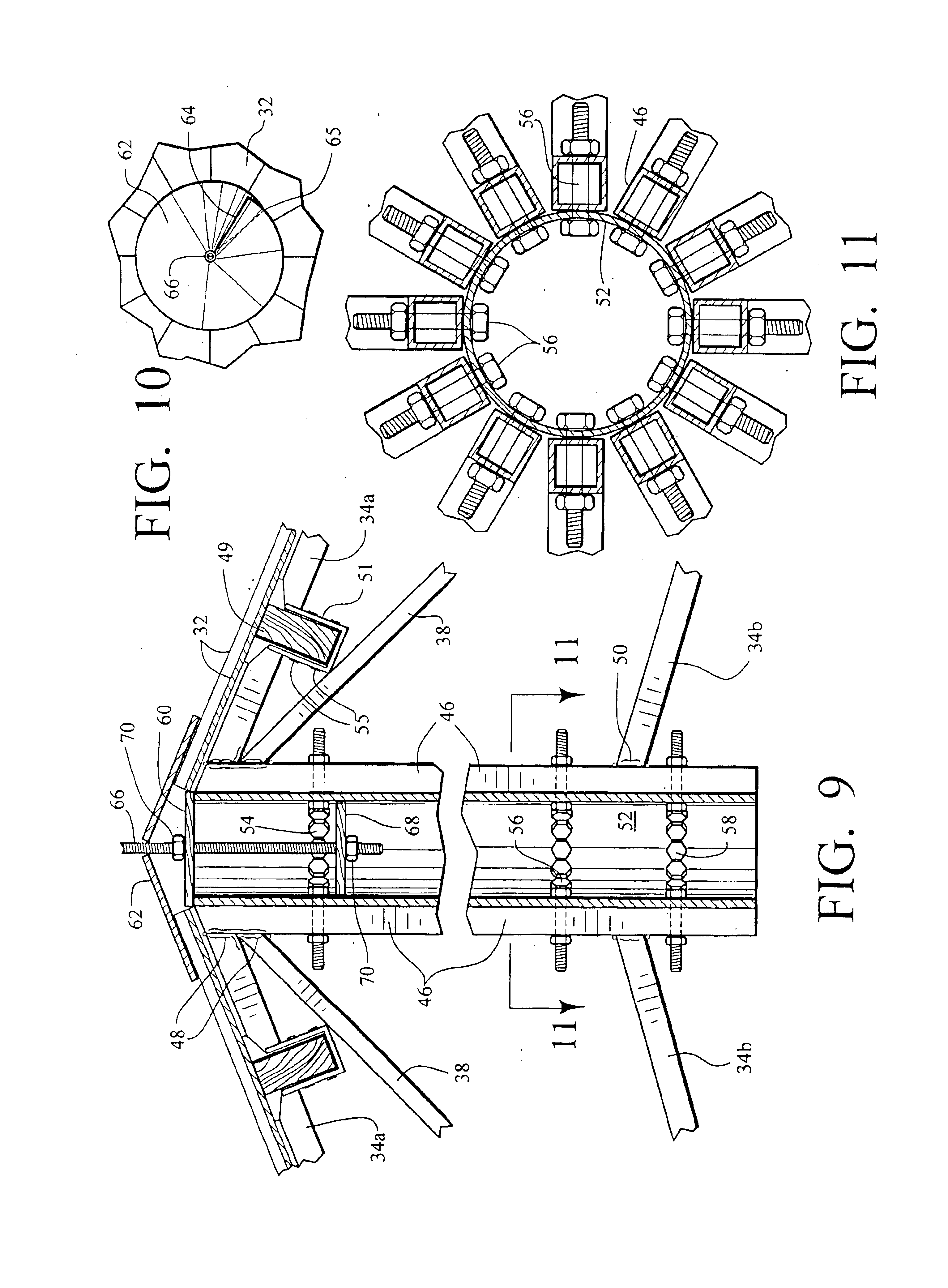 Patent Us6843026 Cone Shaped Polygon Roof Structure
