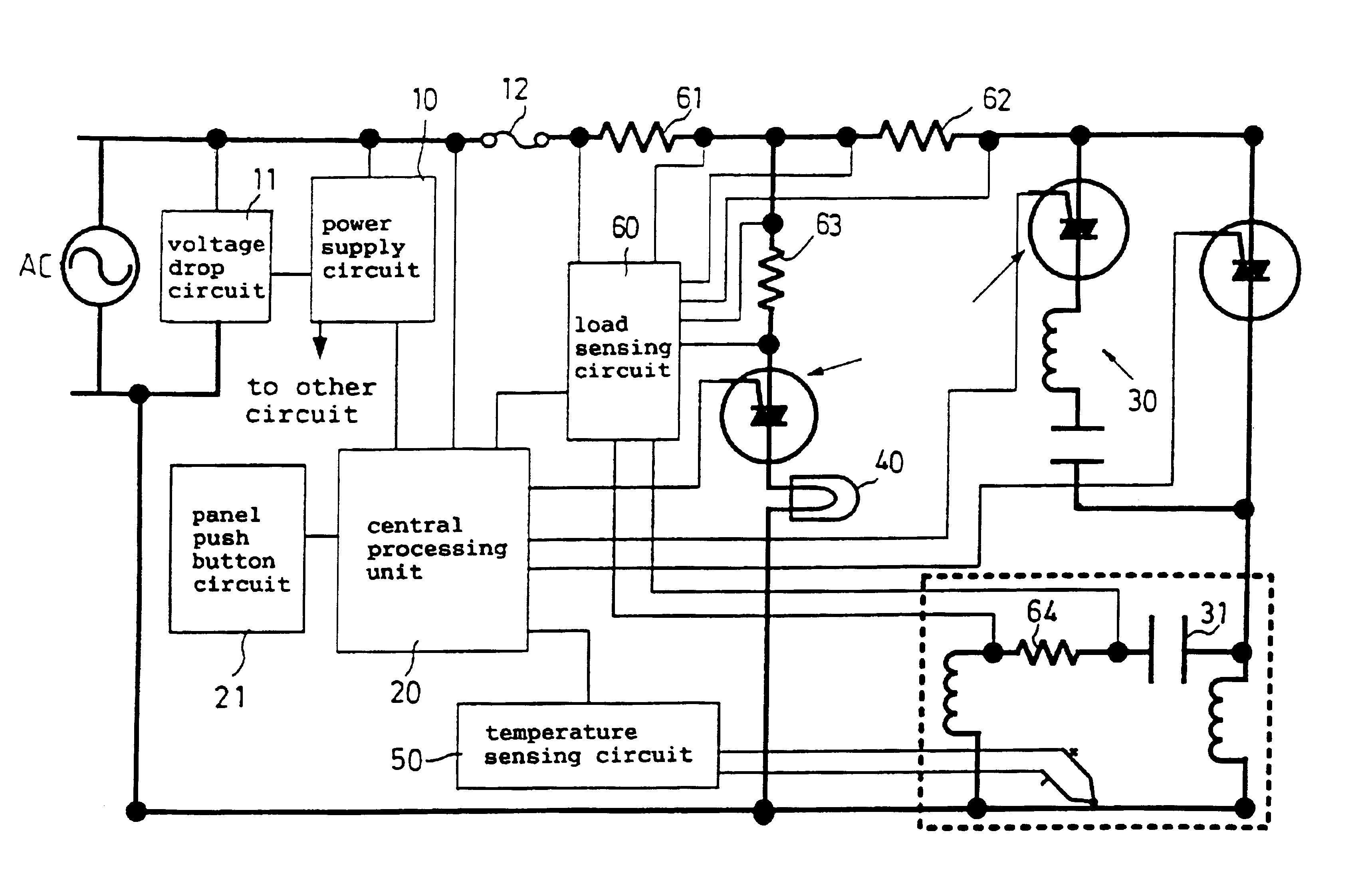 Patent Us6844691 Ventilator Having An Abnormal Operation Temperature Sensing Circuit Drawing