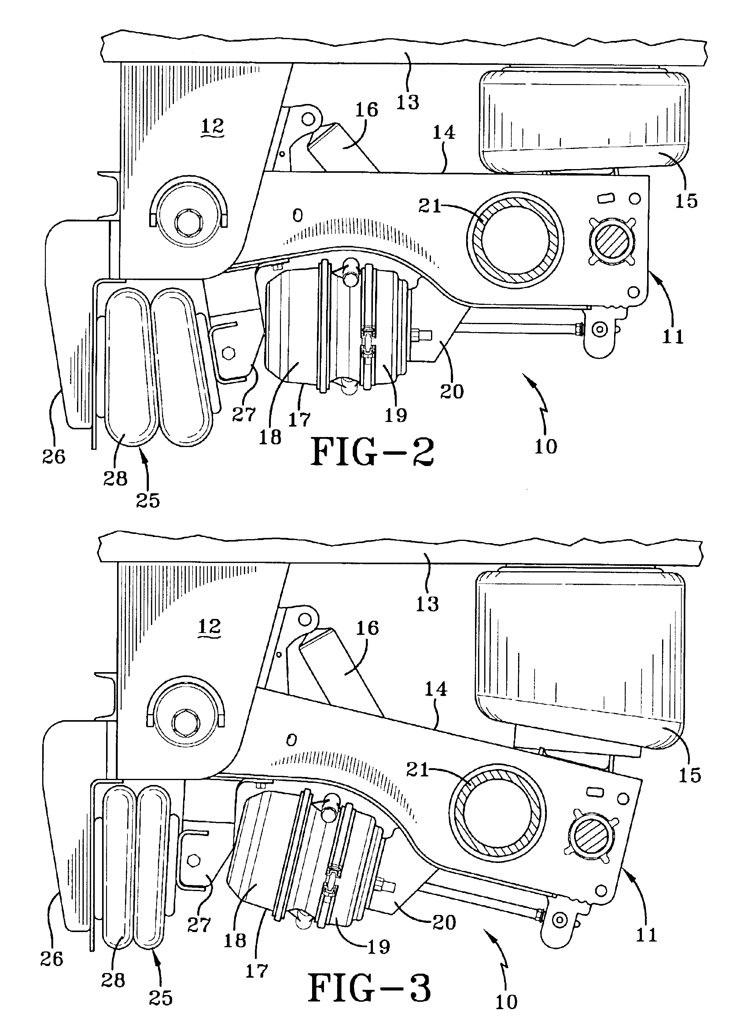 Patent Us6845989 Lift Axle Air Pressure Transfer Control