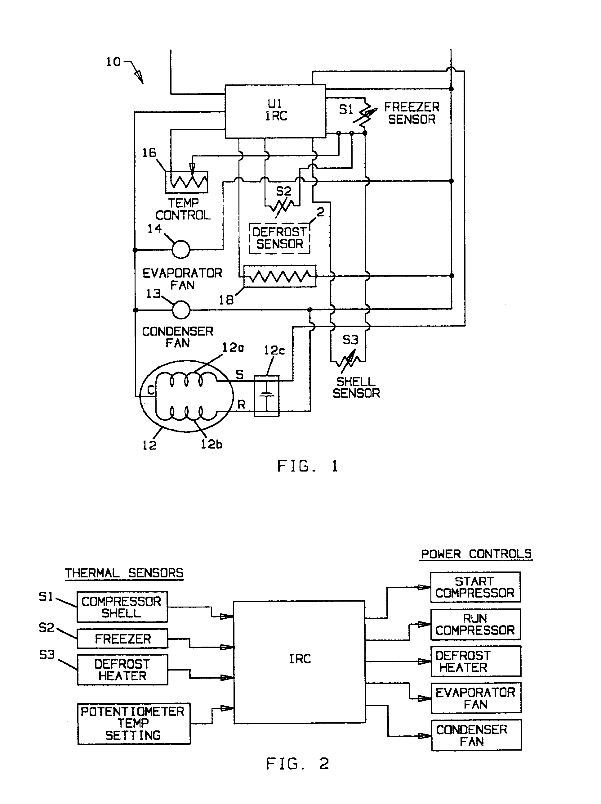 patent us6851270 - integrated refrigeration control