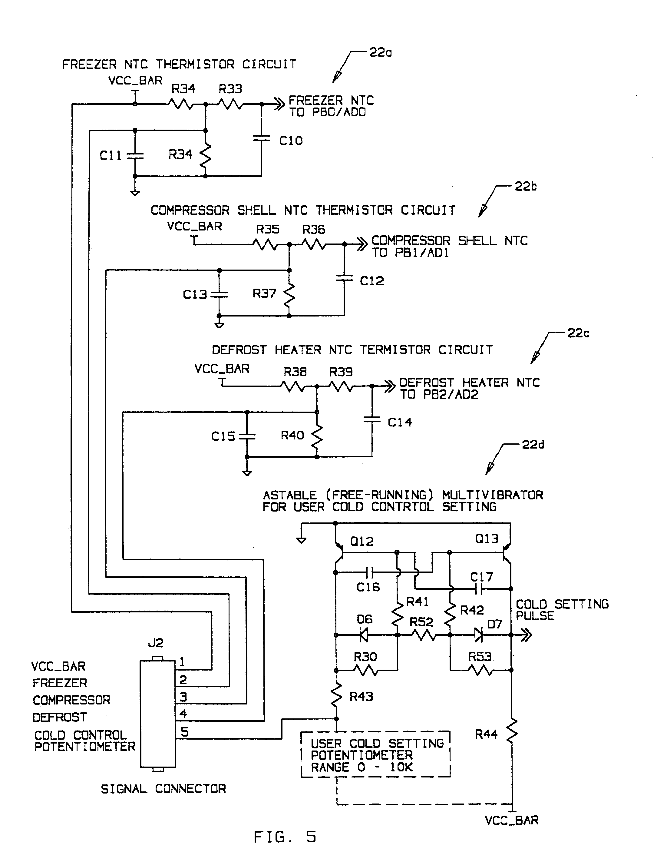 patent us integrated refrigeration control google patent drawing