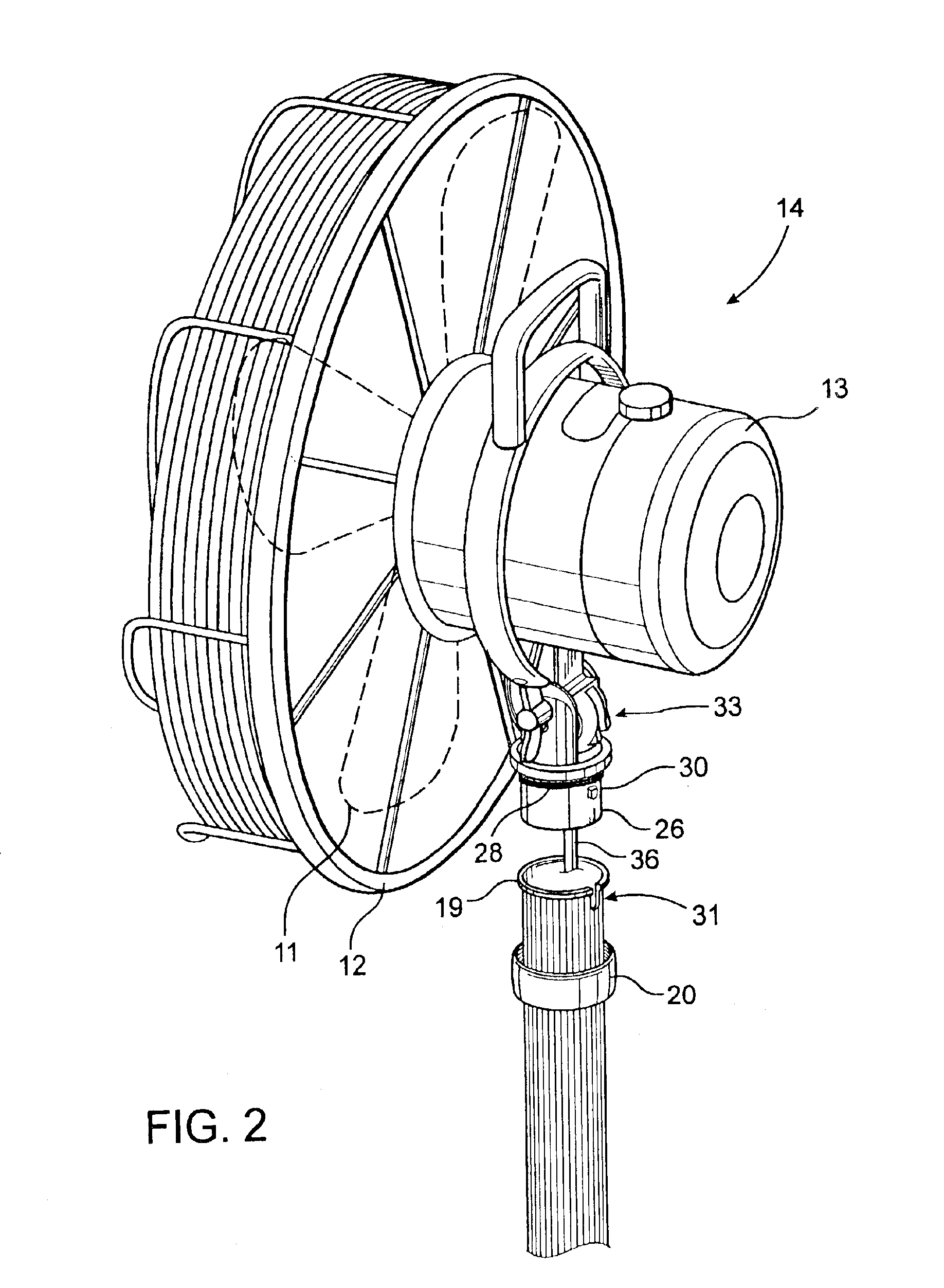 Patent Us6851933 Electric Fan Assembly And Fan Assembly