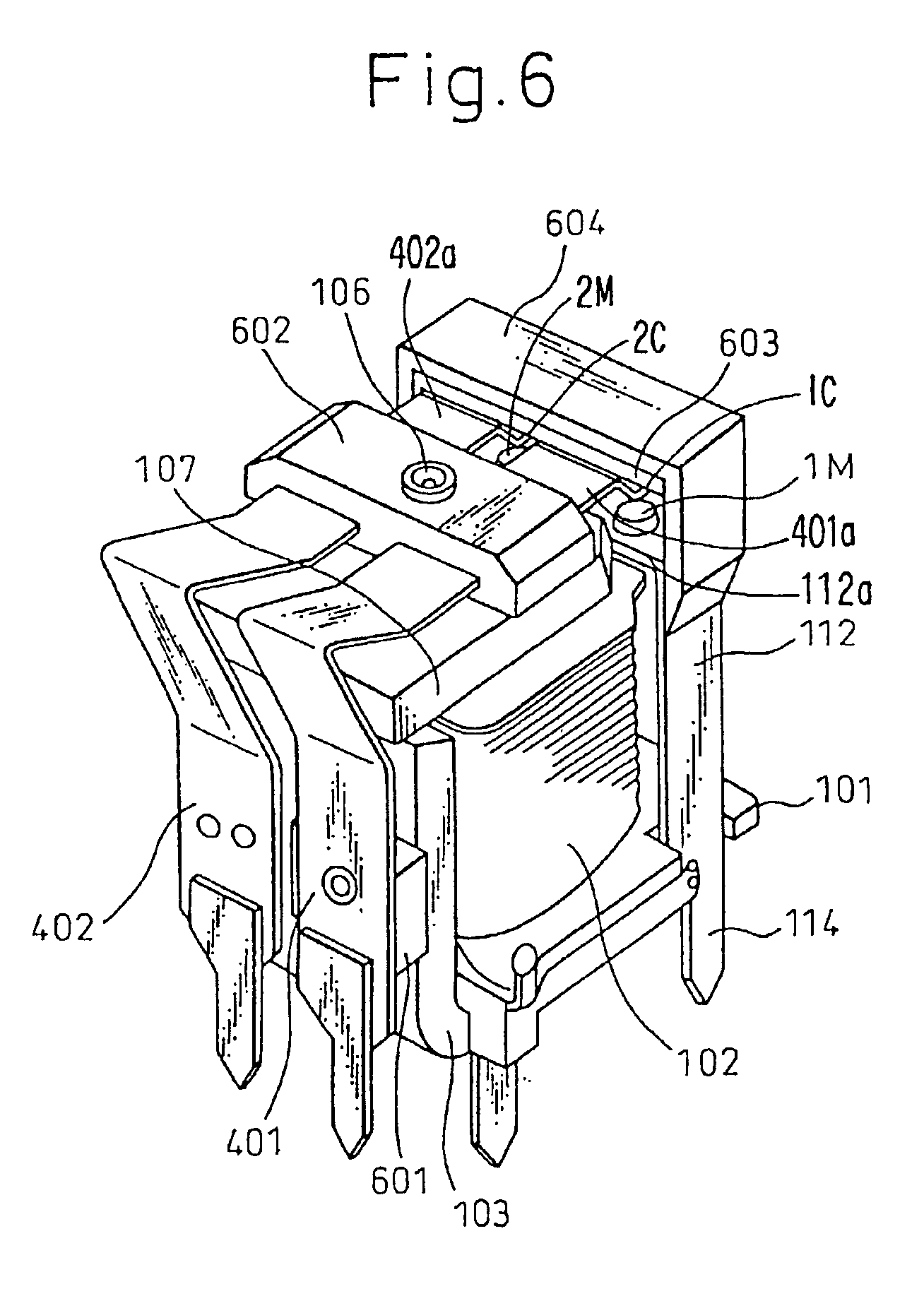 patent us6853275 - electromagnetic relay