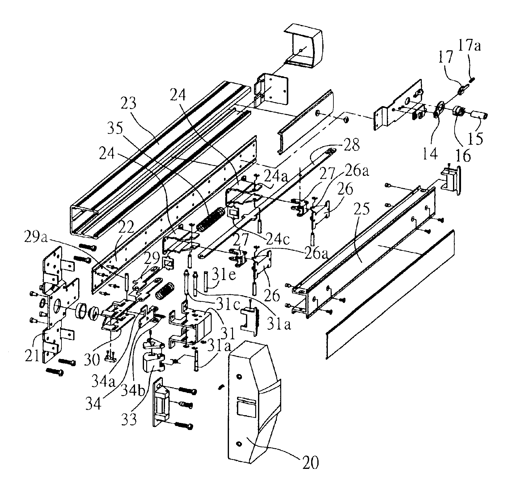 Patent Us6854773 Fire Door Lock Mechanism Google Patents