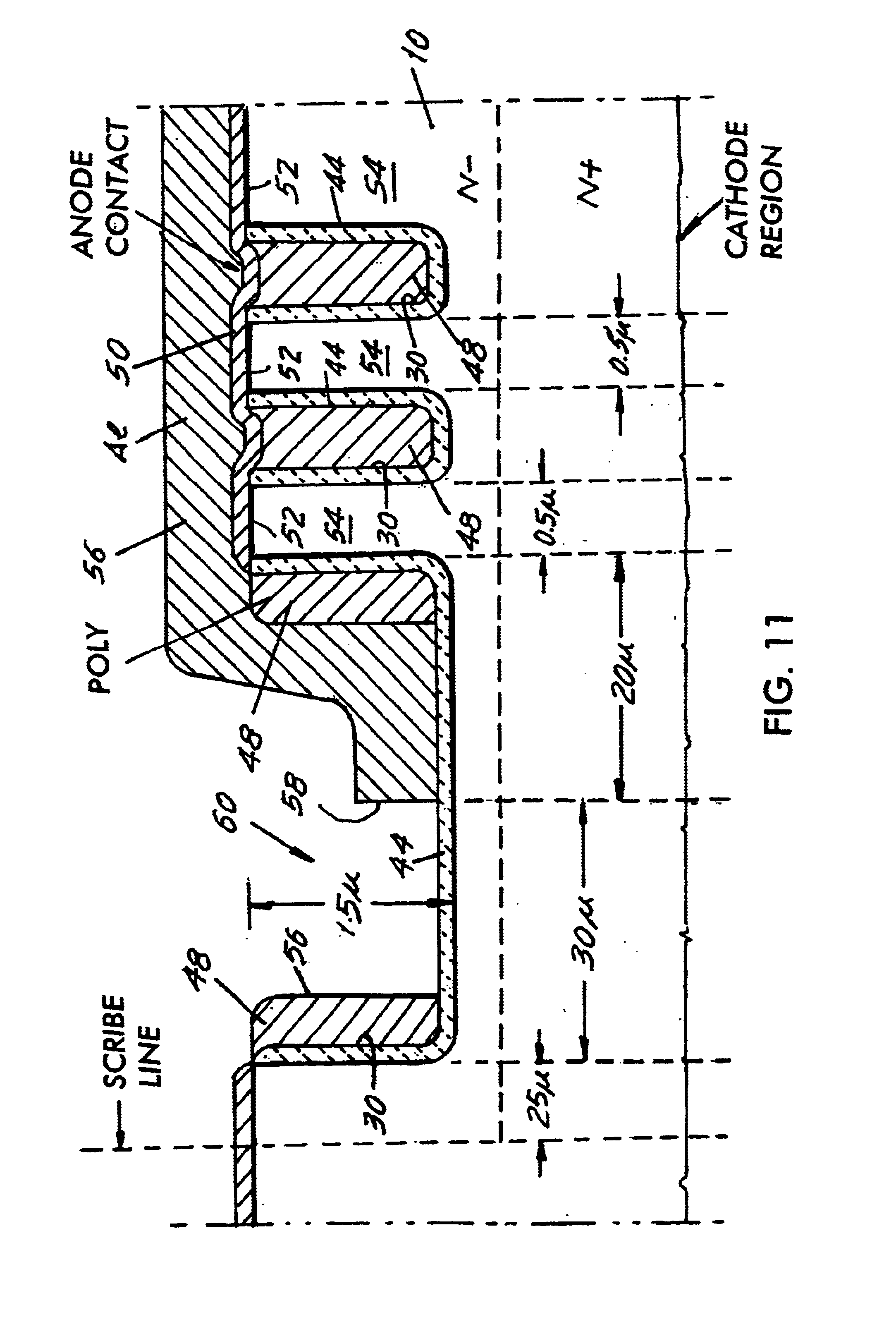 Patent US6855593 - Trench Schottky barrier diode - Google