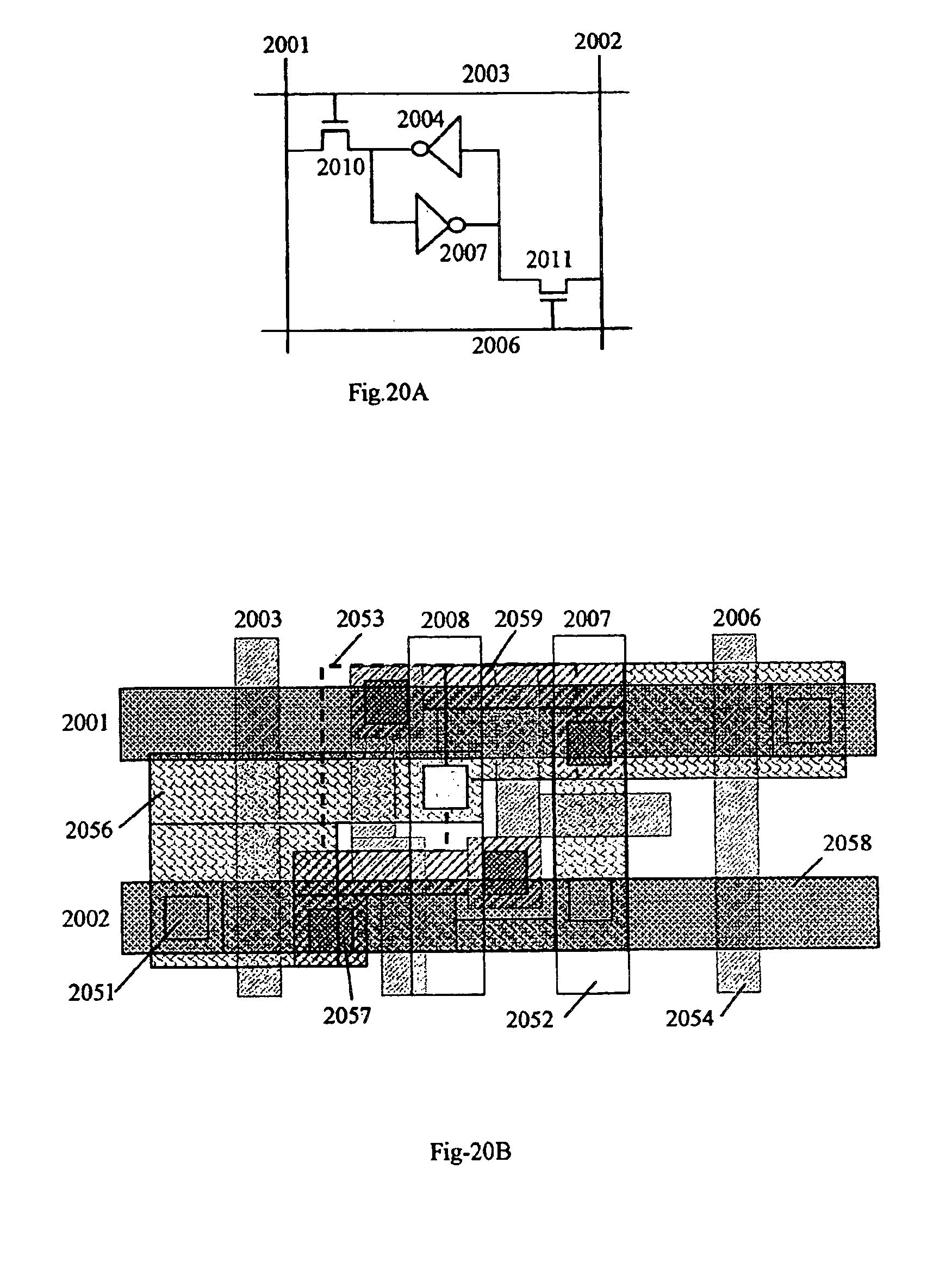 patent us6856030 - semiconductor latches and sram devices