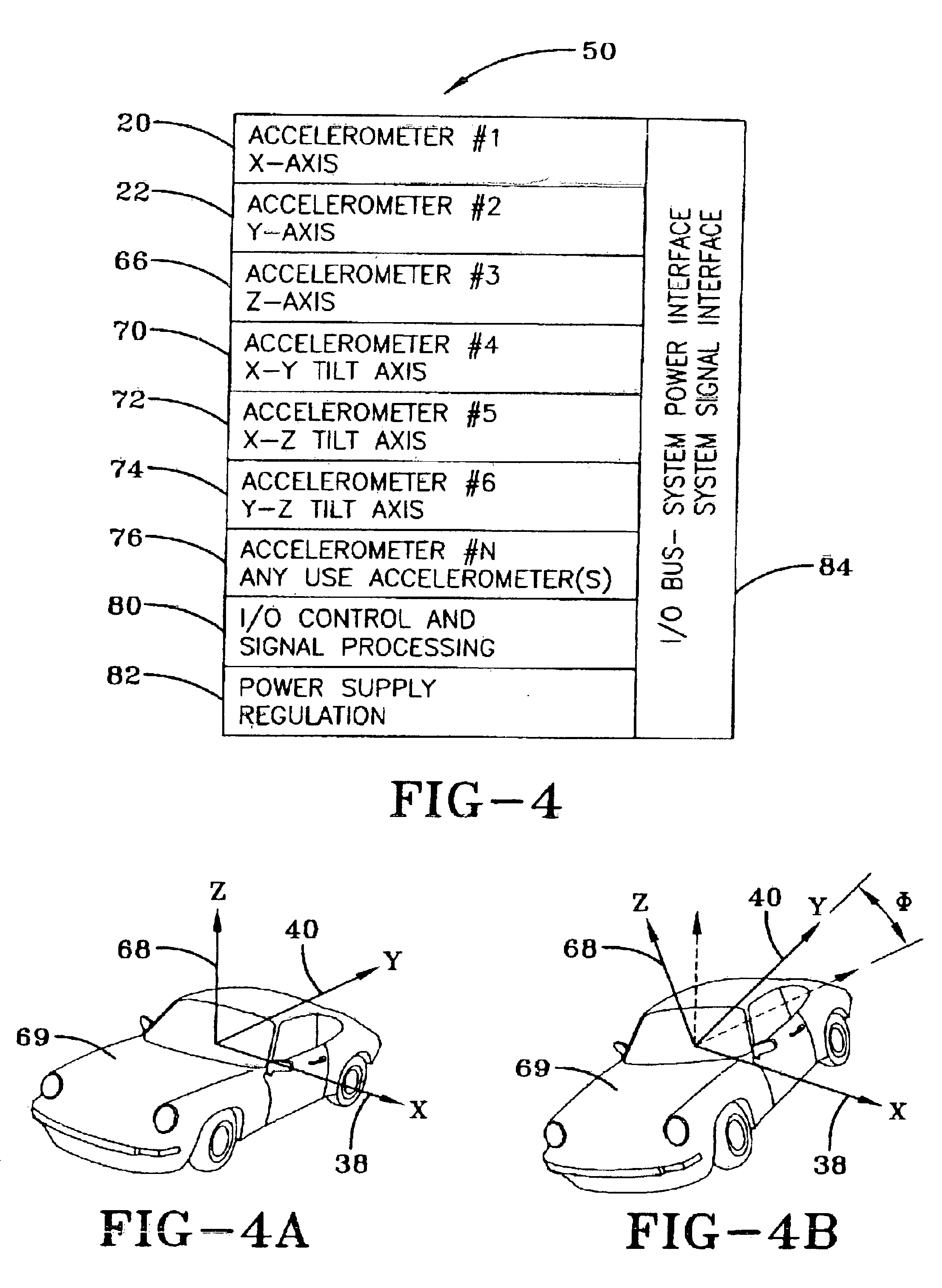 patent us6856884 - accelerometer gauge using solid state accelerometers