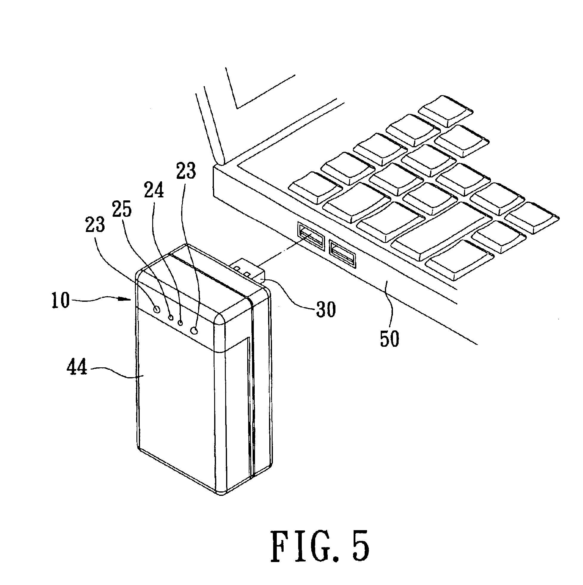 patent us6874907