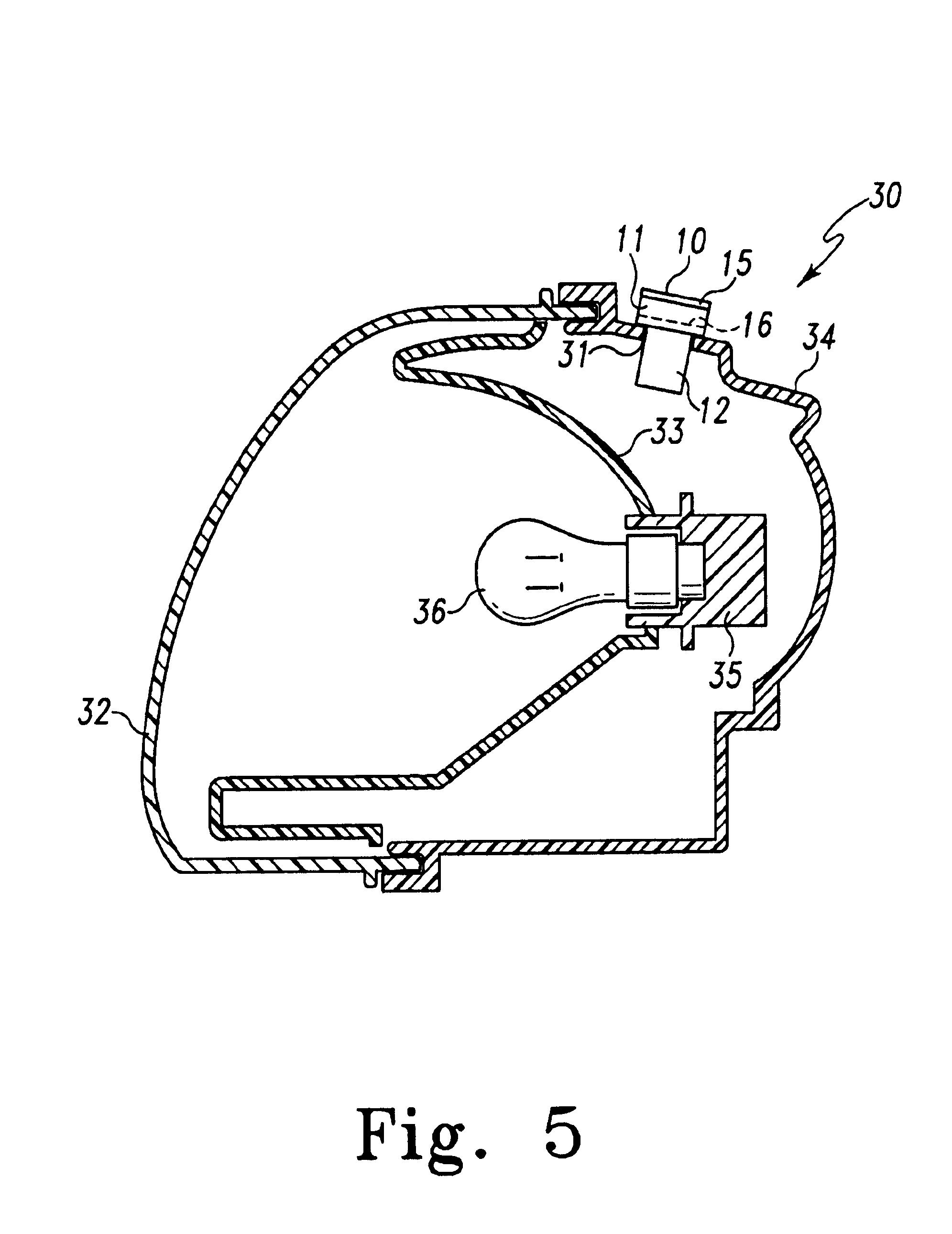 patent us6883948 automotive lamp assembly moisture control system google patentsuche. Black Bedroom Furniture Sets. Home Design Ideas
