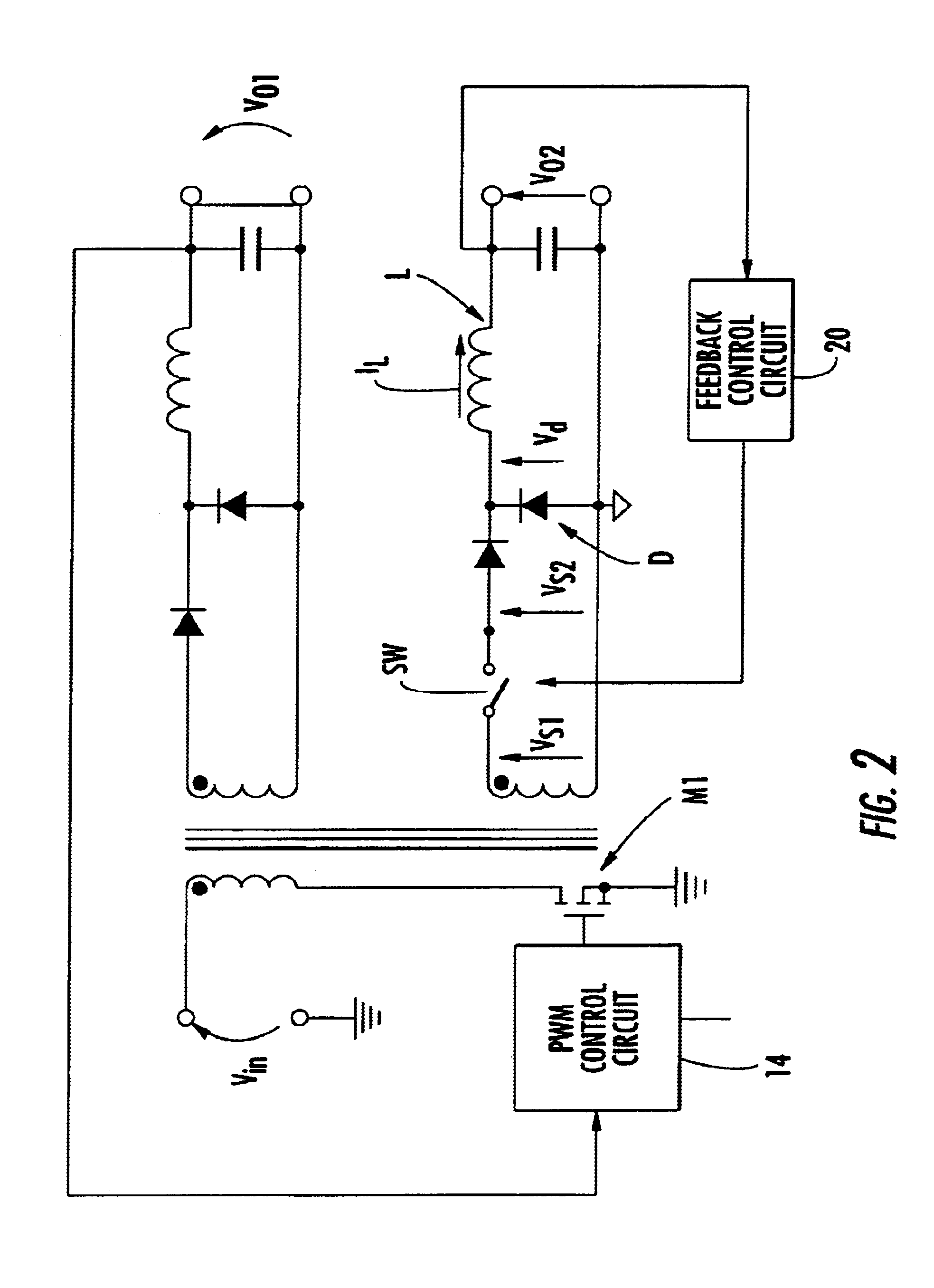 Patent Us6885176 Pwm Control Circuit For The Post Adjustment Of Envelope Follower Schematic Drawing