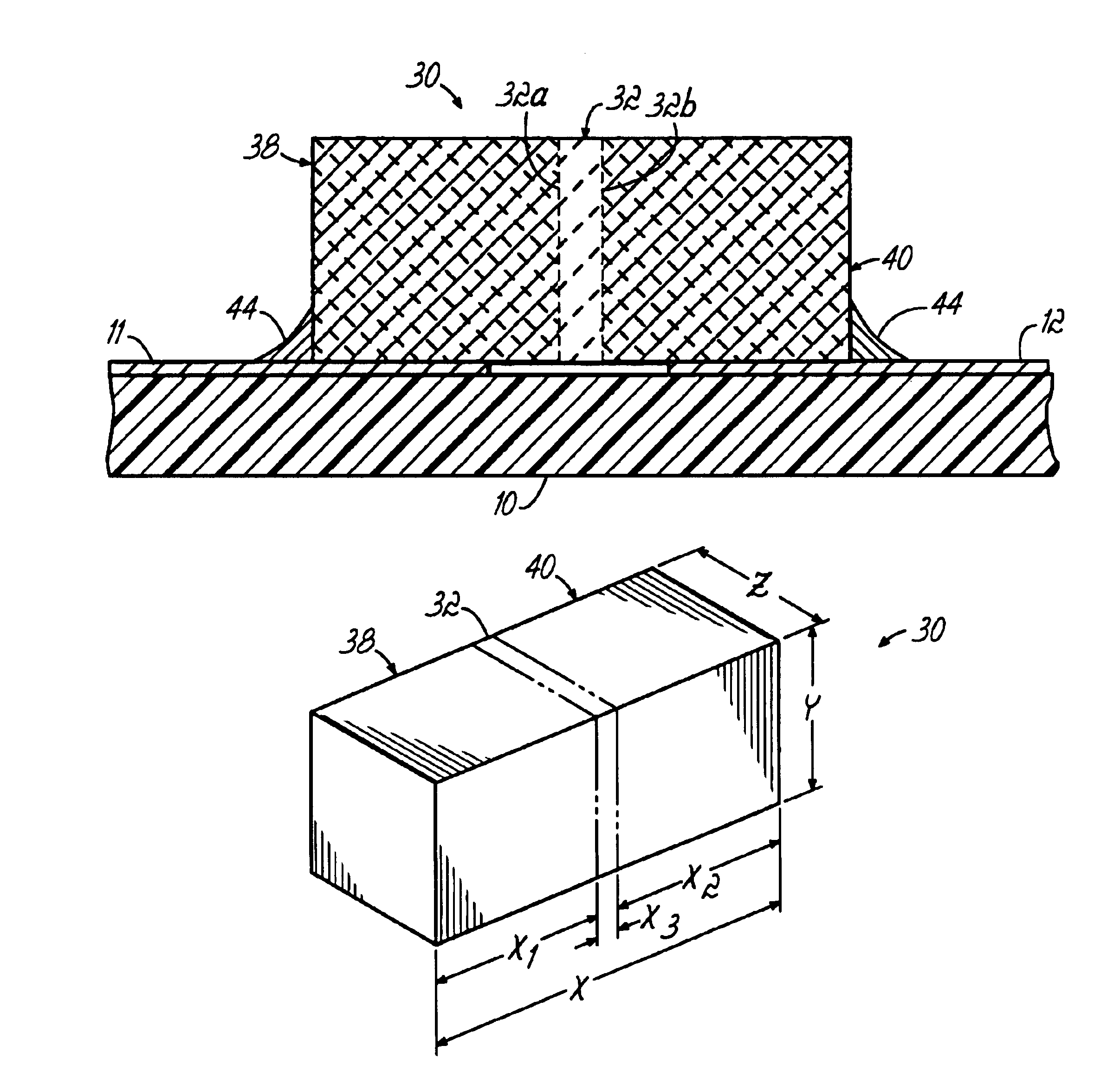 patent us6885539 - single layer capacitor