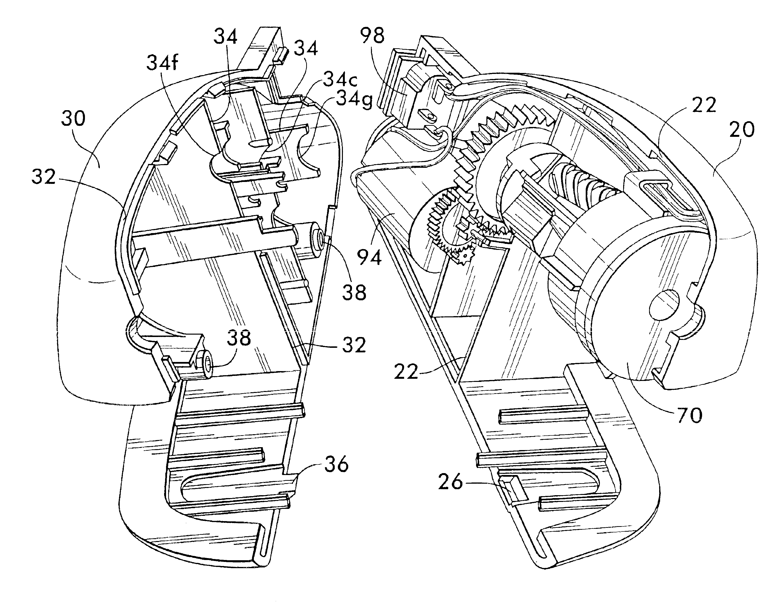 patent us6886614 - pencil sharpener