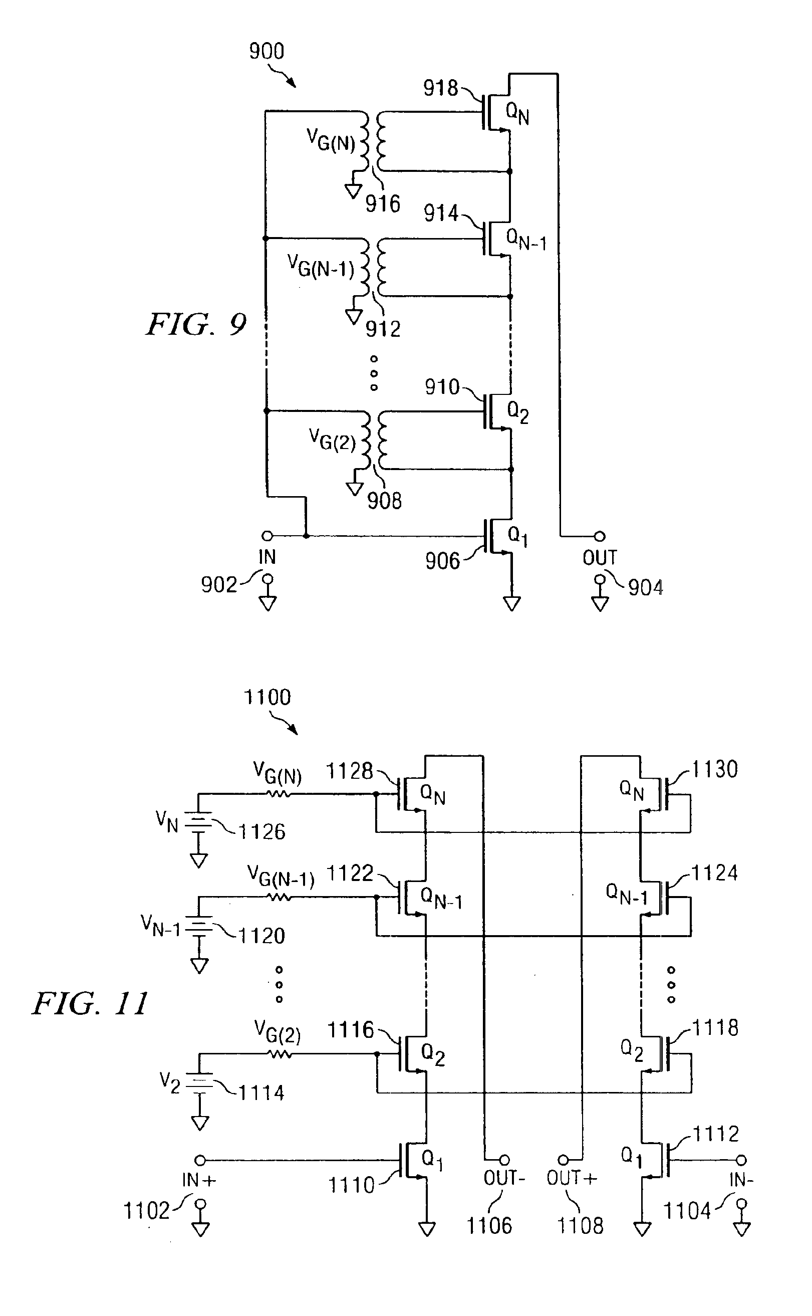 Patent Us6888396 Multi Cascode Transistors Google Patents Differential Circuit And Driver Drawing