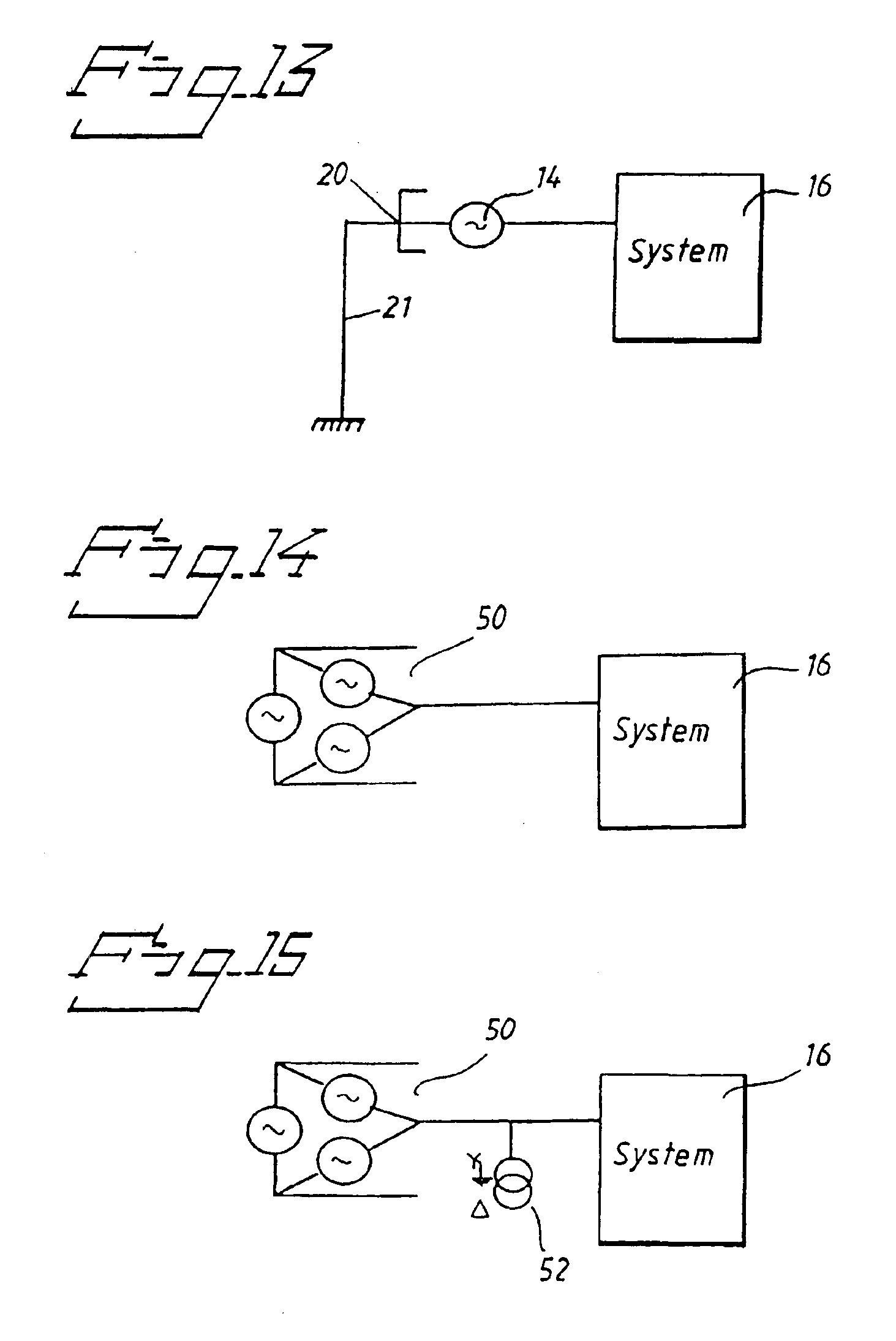 Patent US High Voltage AC Machine Winding With Grounded - Neutral displacement relay working principle