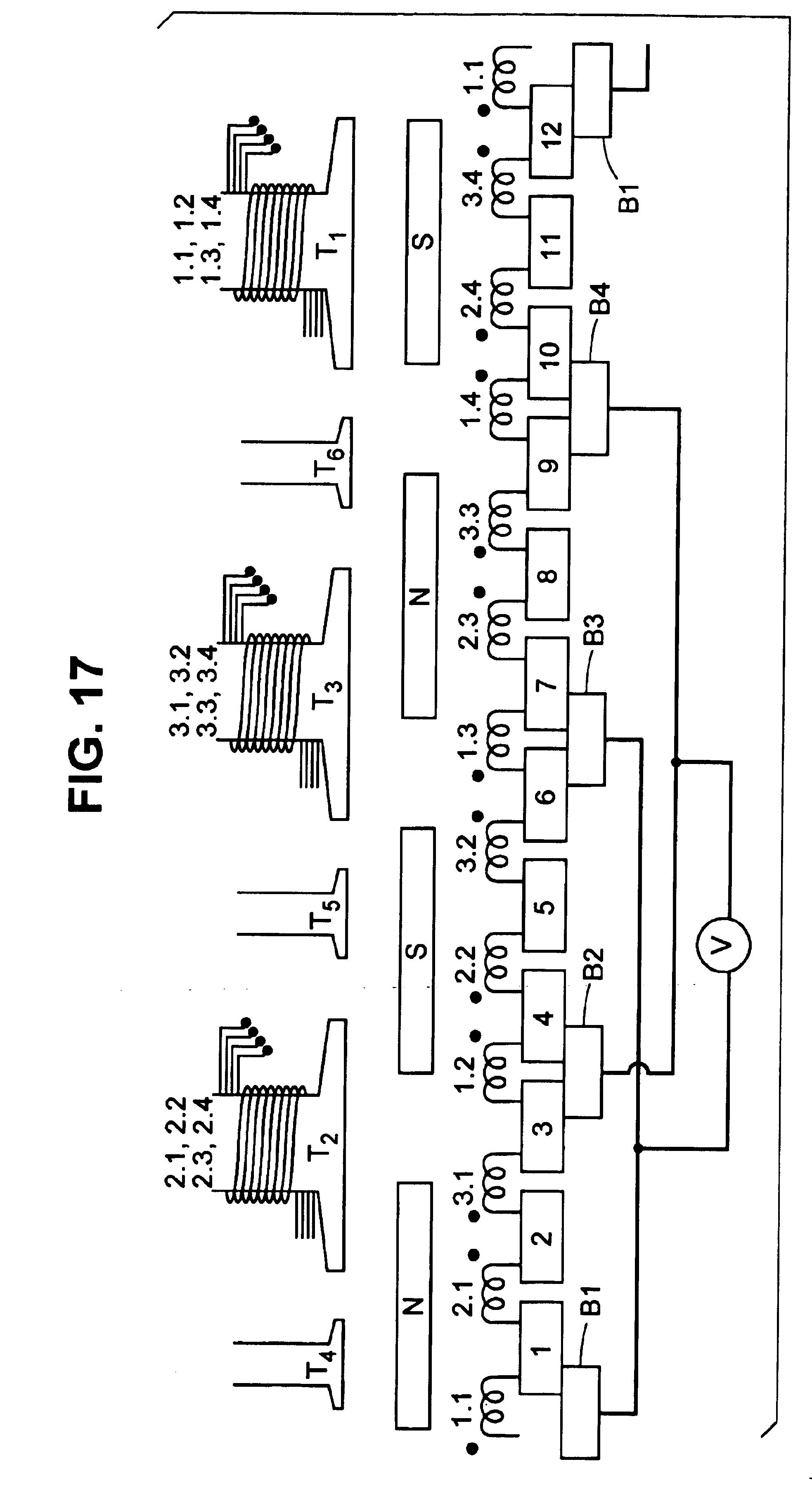 Patent Us6891304 Brush Dc Motors And Ac Commutator Motor