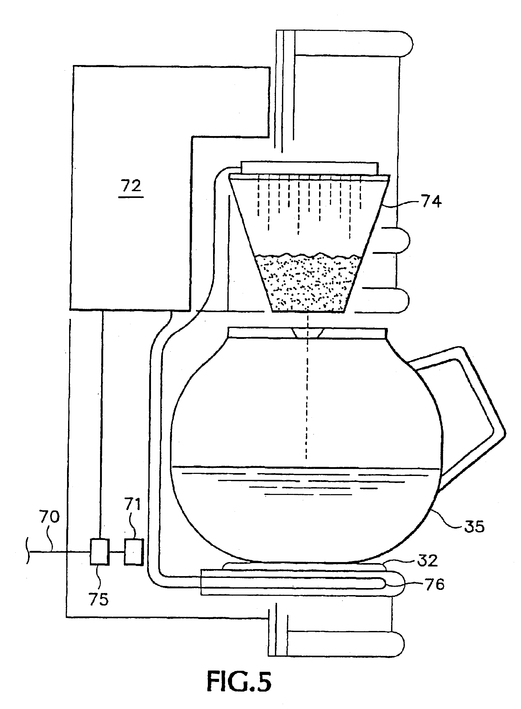 Patent US6892626 - In-wall coffee maker - Google Patents