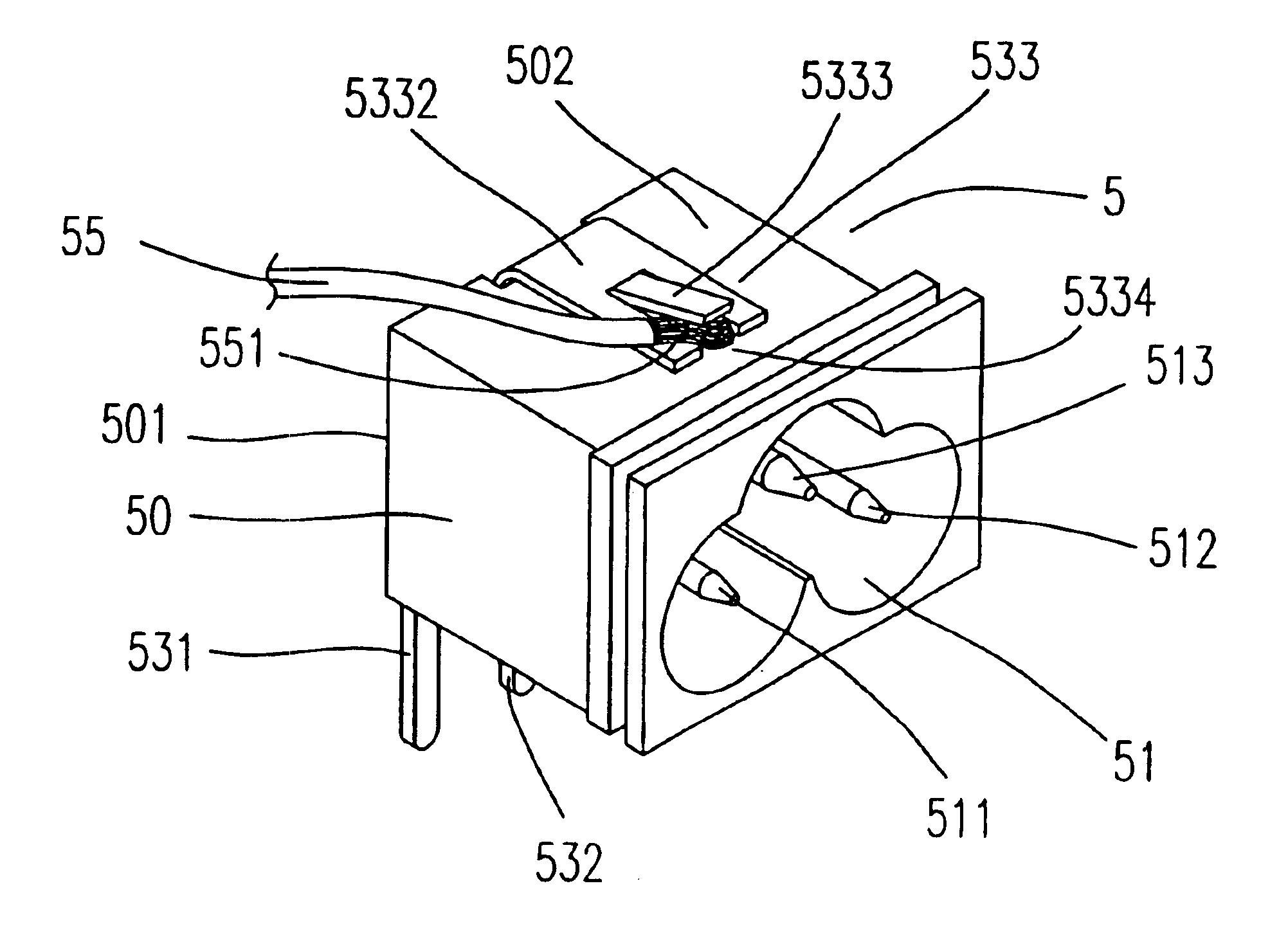 patent us6893274
