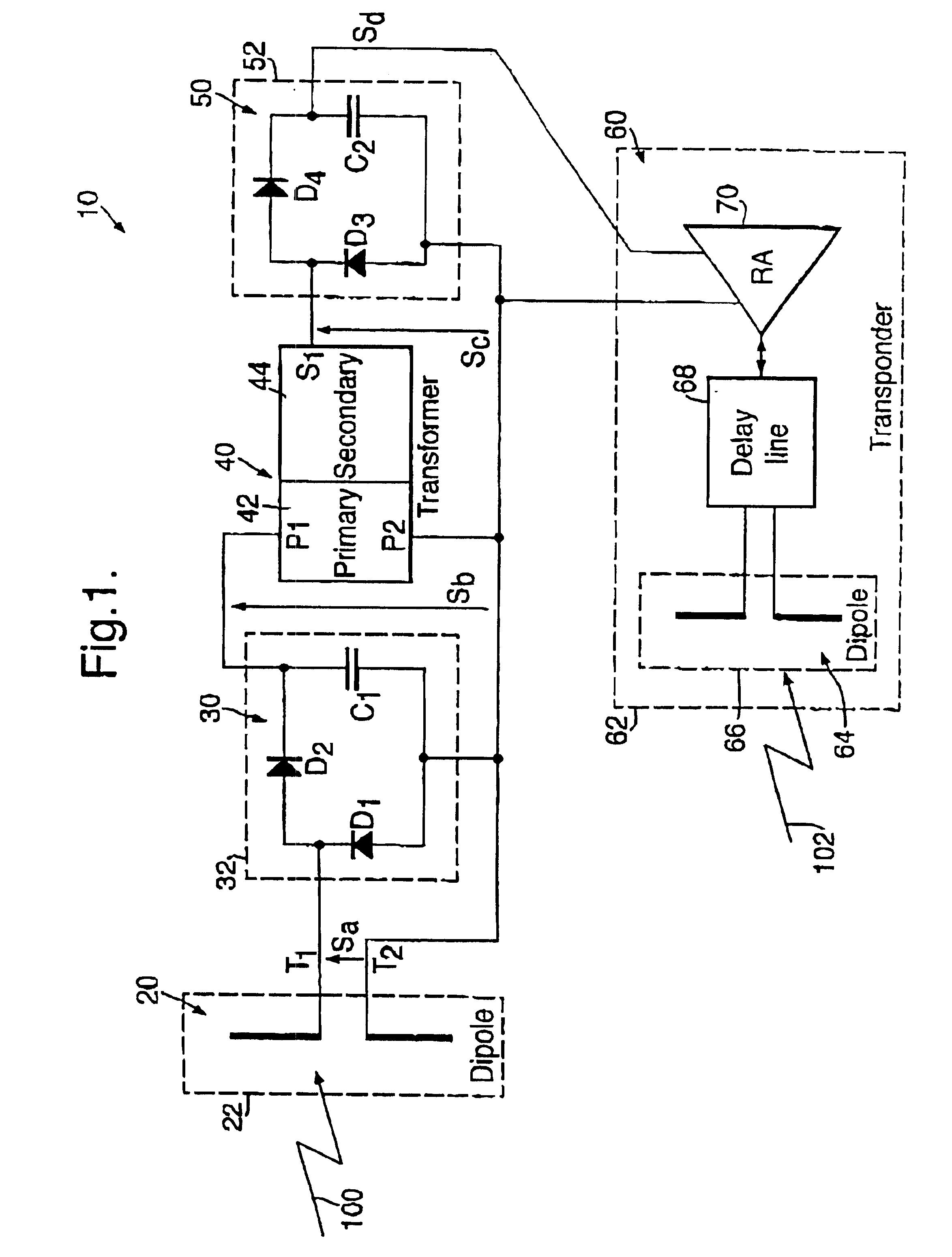 patent us6894616 - piezo-electric tag