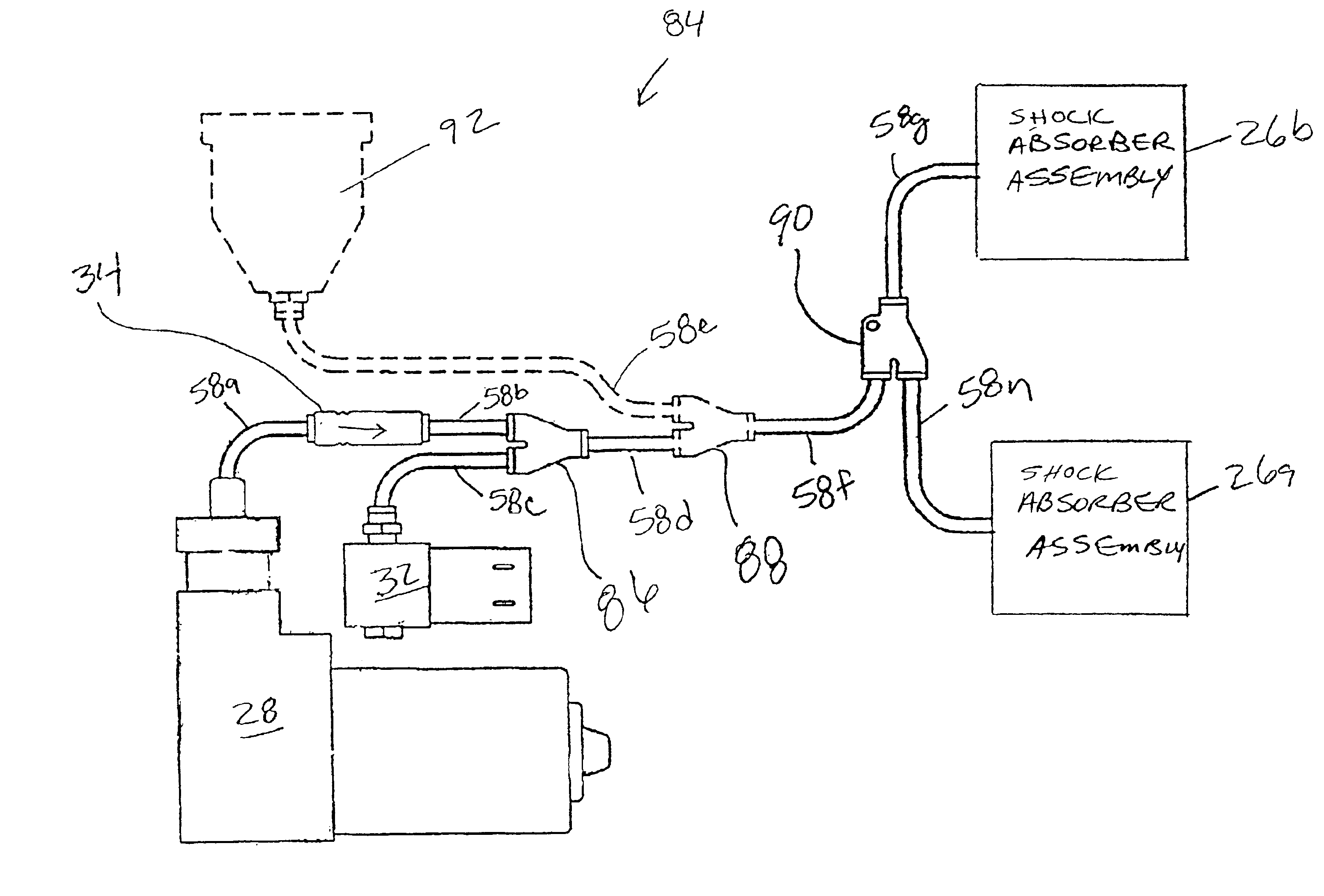 patent us6905126 - air-bag suspension system