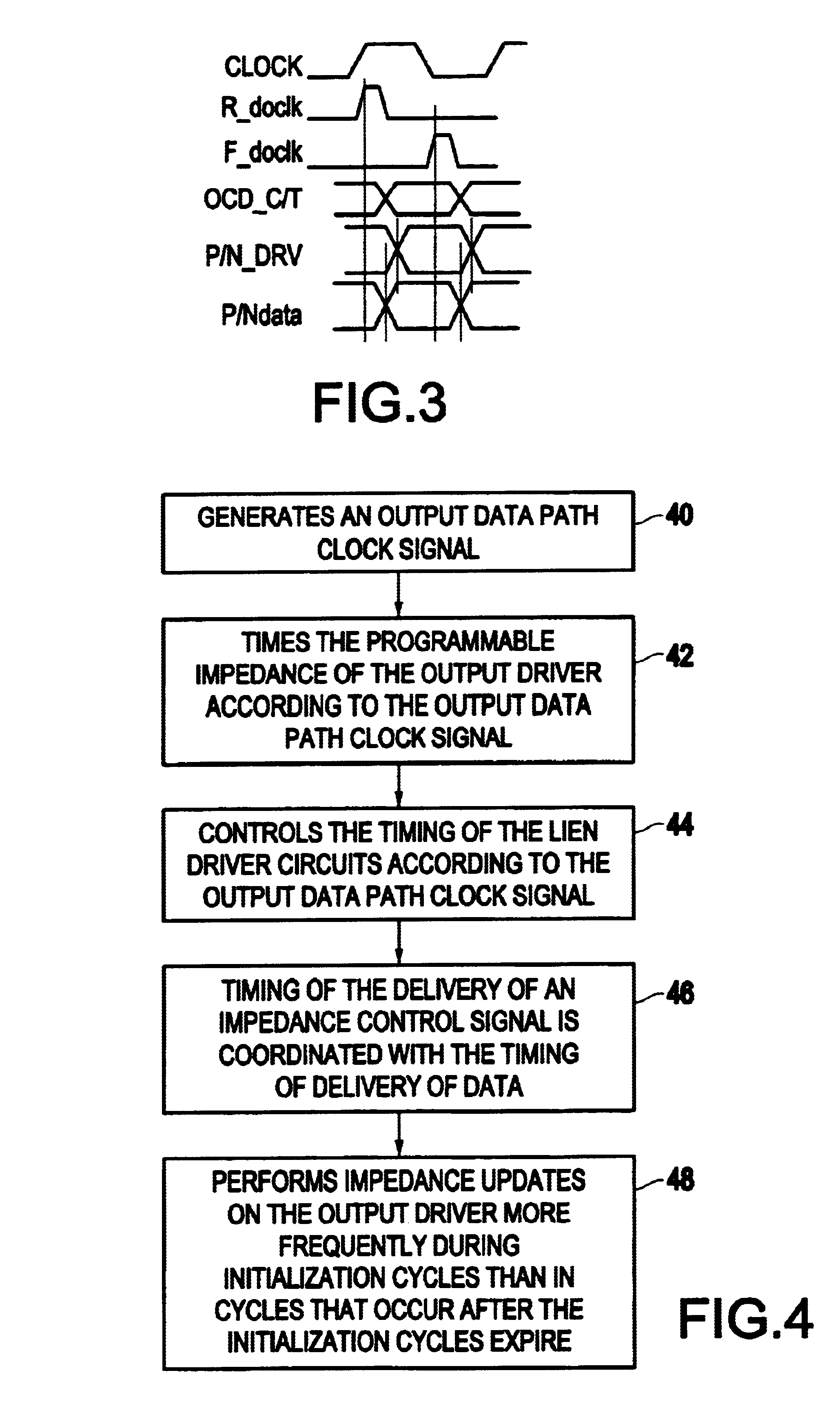 Patent US6912165 - Method for transparent updates of output