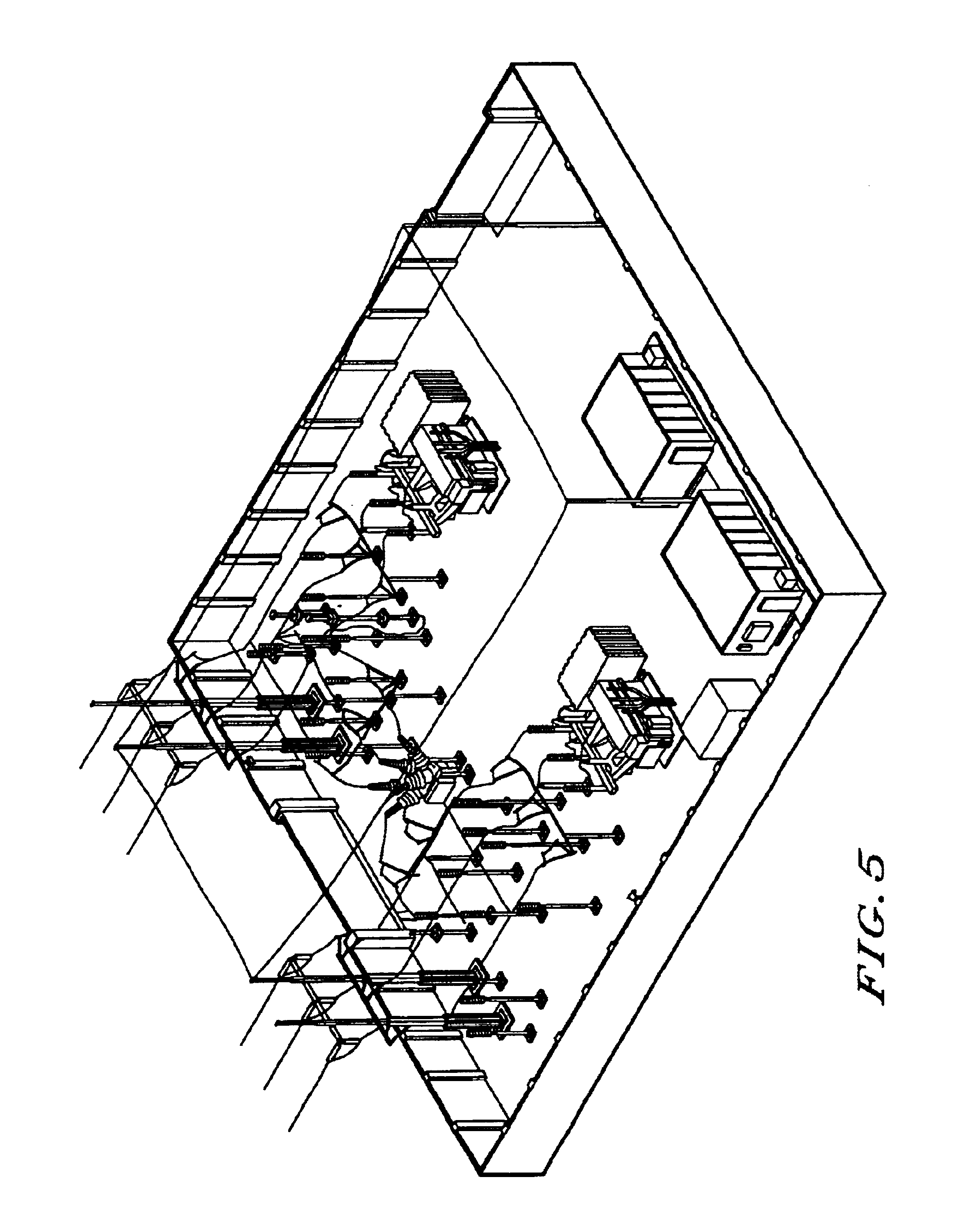 patent us6912487 utility station automated design system and Terminal Distribution Block patent drawing