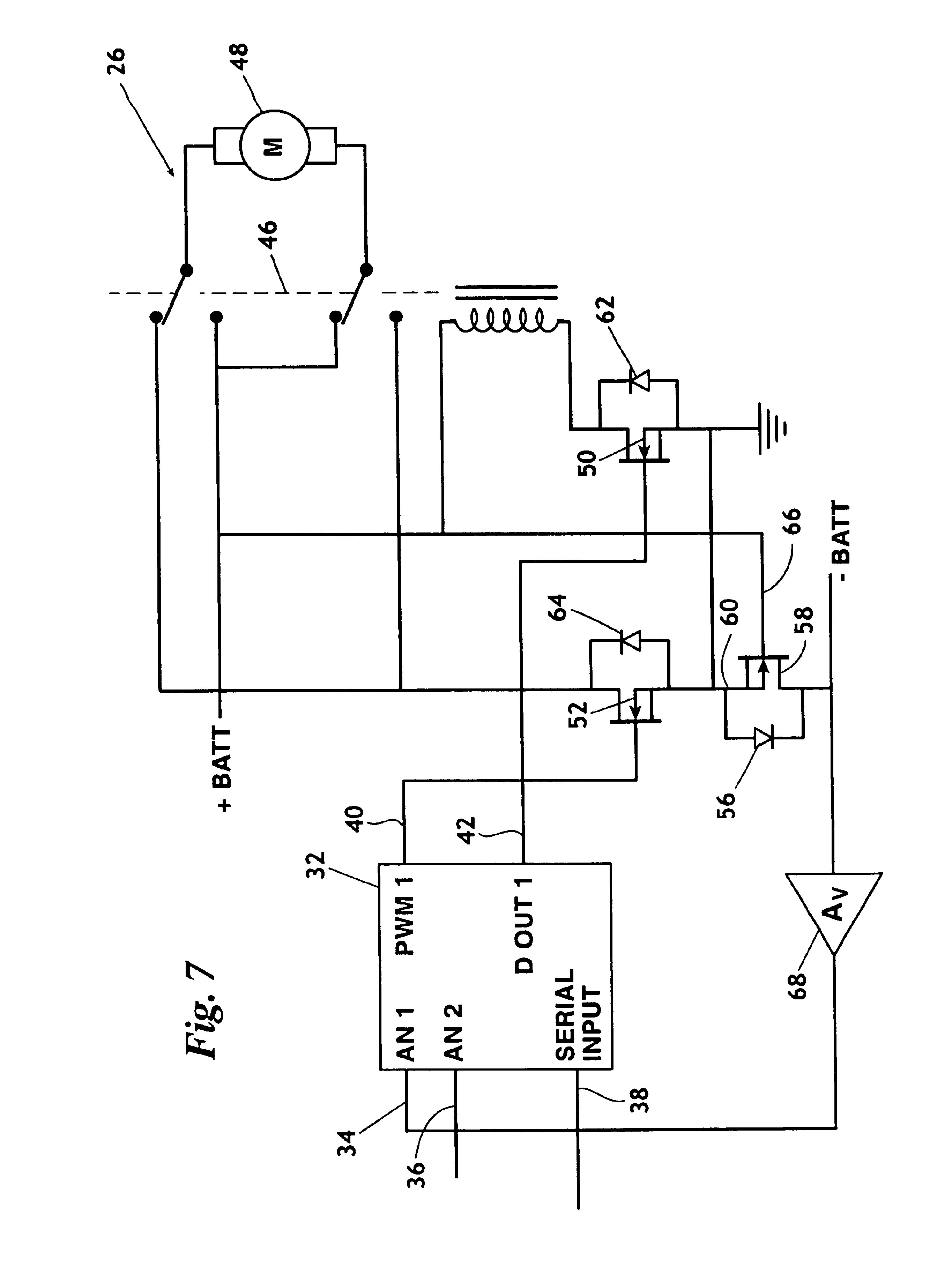 Patent US6919704 - Reverse battery protection for a trolling motor ...