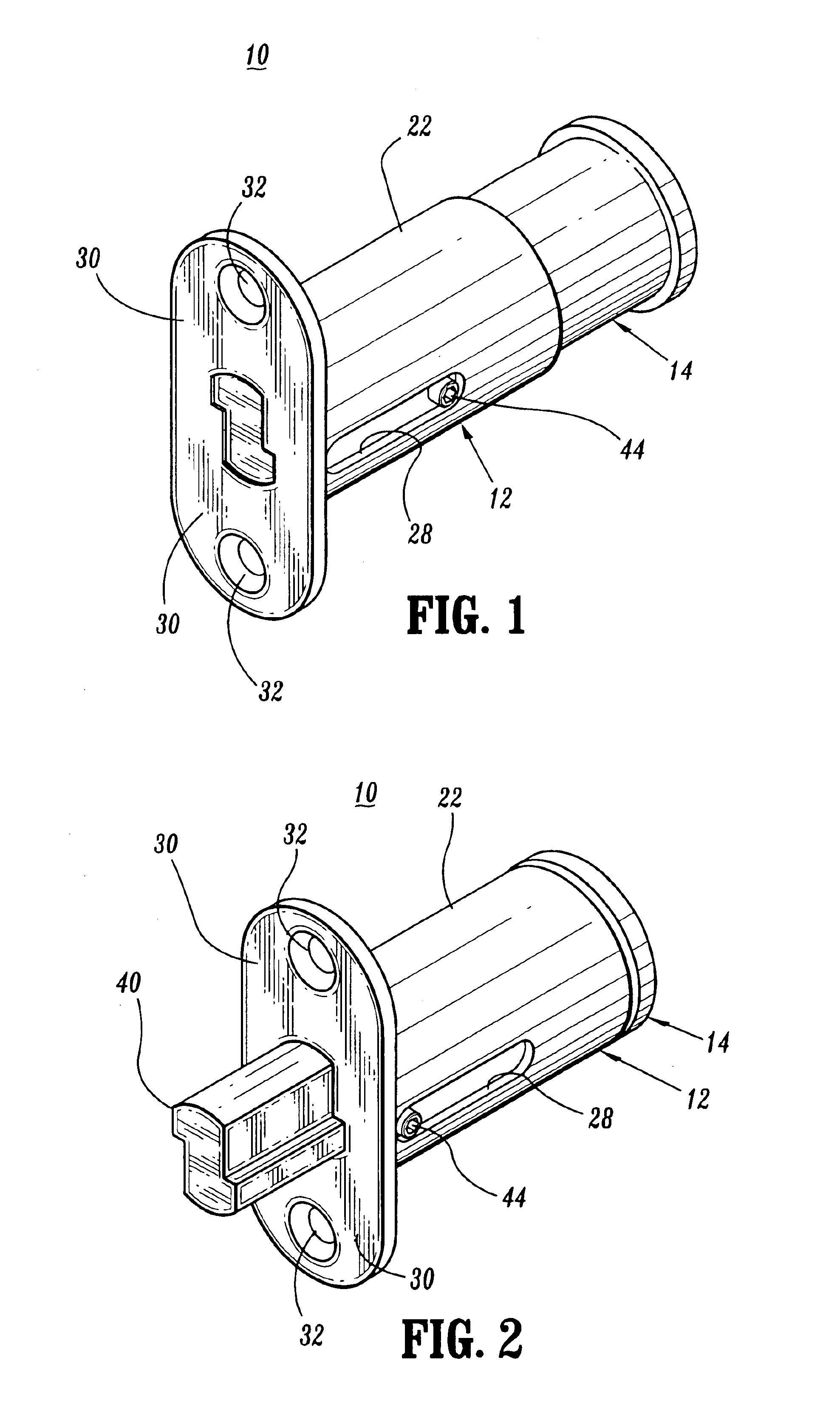 براءة الاختراع US6920770 - Plunger lock assembly with removable core
