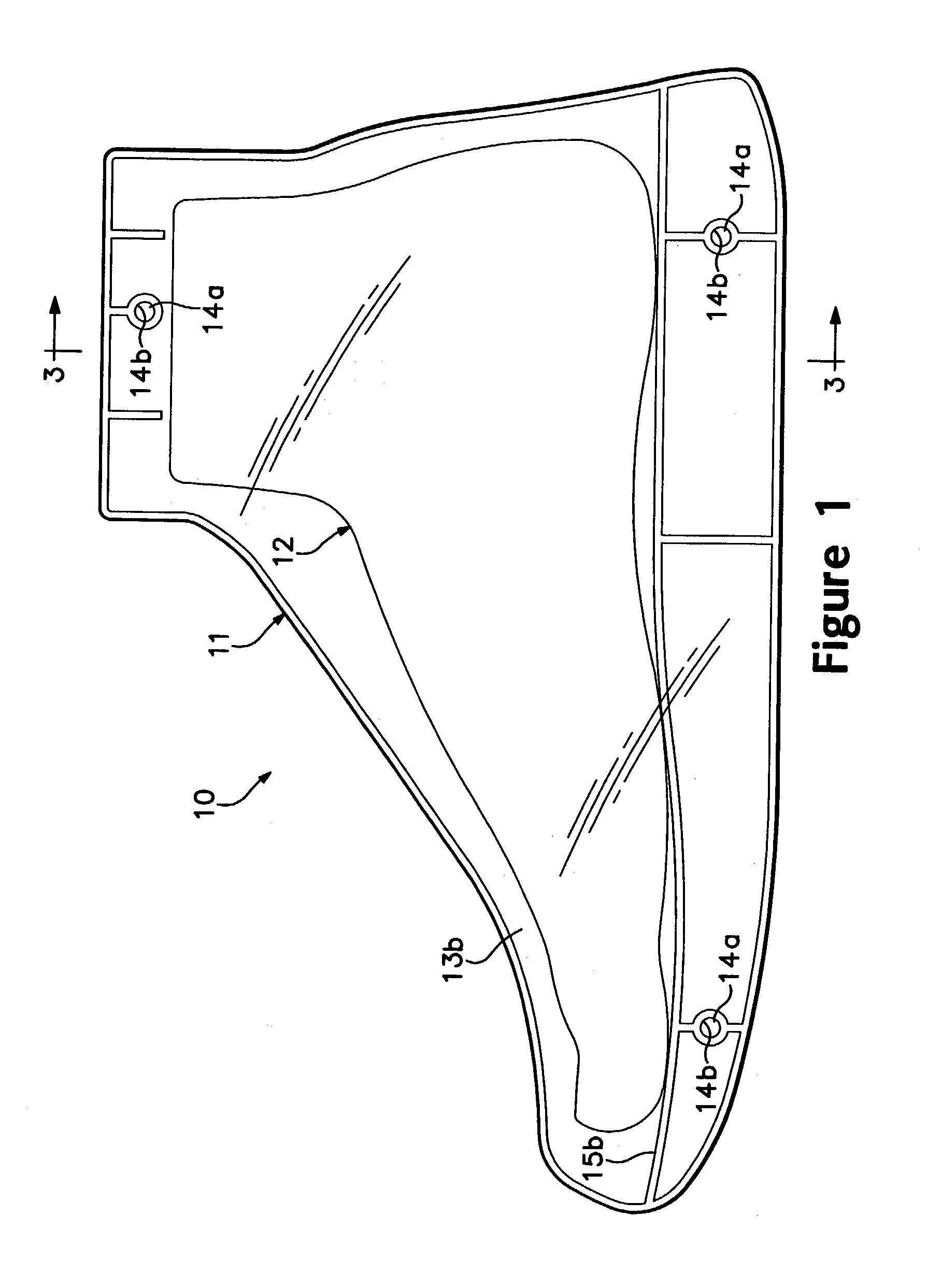 Patent us6925723 three dimensional template for footwear for Patent specification template