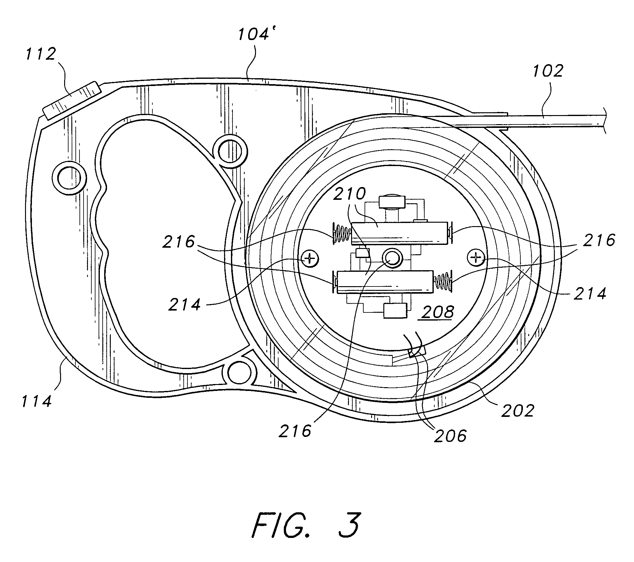 patent us6925967 - illuminated retractable leash