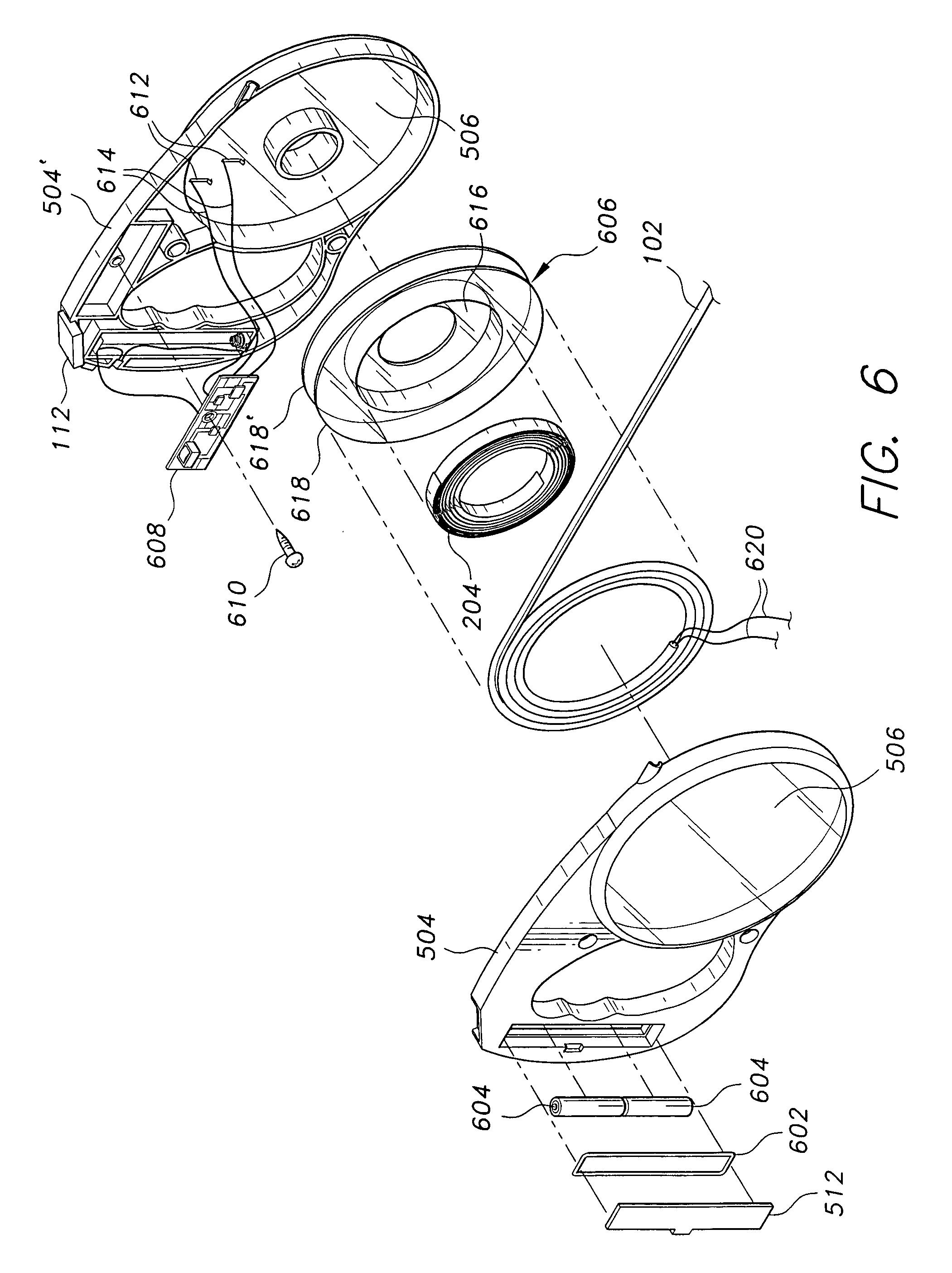 patent us6925967 - illuminated retractable leash