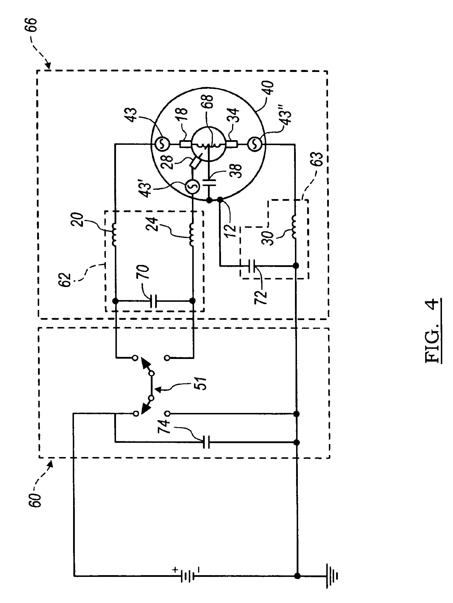patent us6930457 dc motor brush filter circuit patents LED Circuit patent drawing