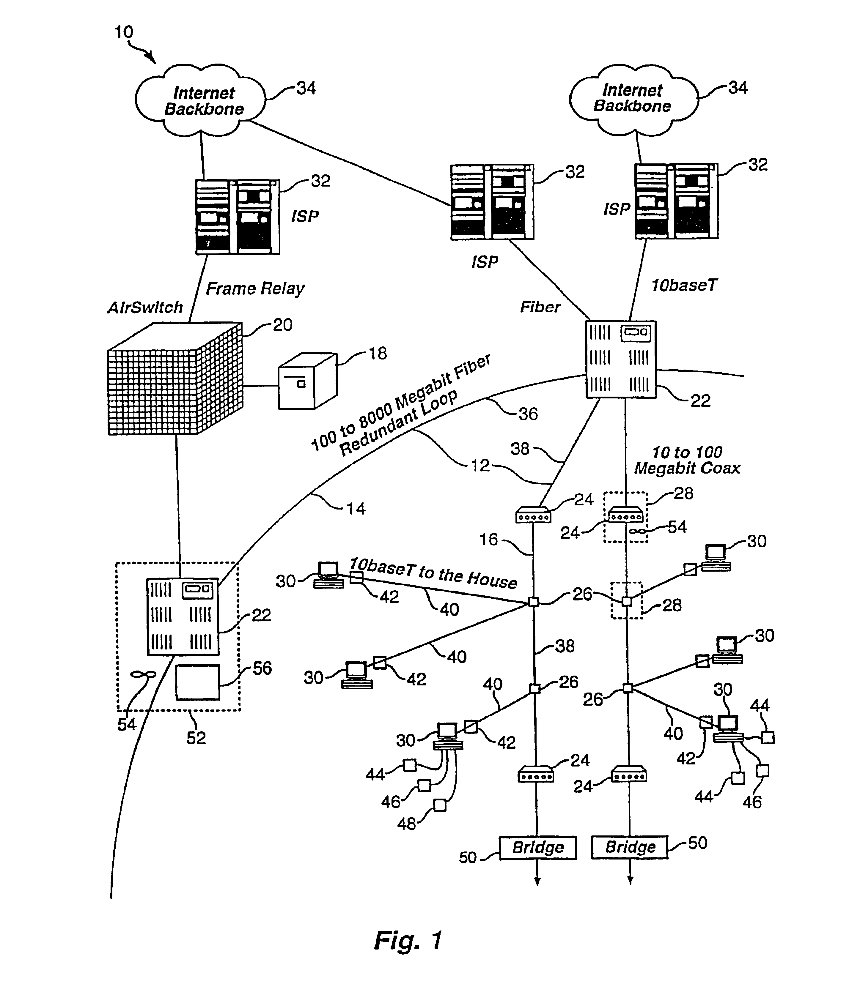 us6931003 packet prioritization protocol for a Speaker Wiring Diagram patent drawing