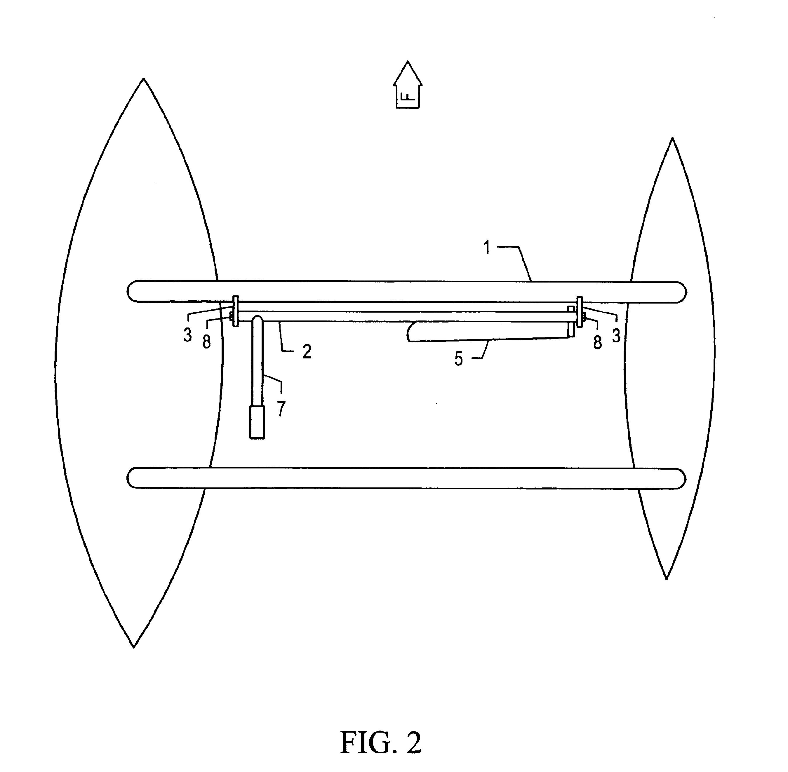 patent us6932018 manual hydrofoil and spar truss. Black Bedroom Furniture Sets. Home Design Ideas