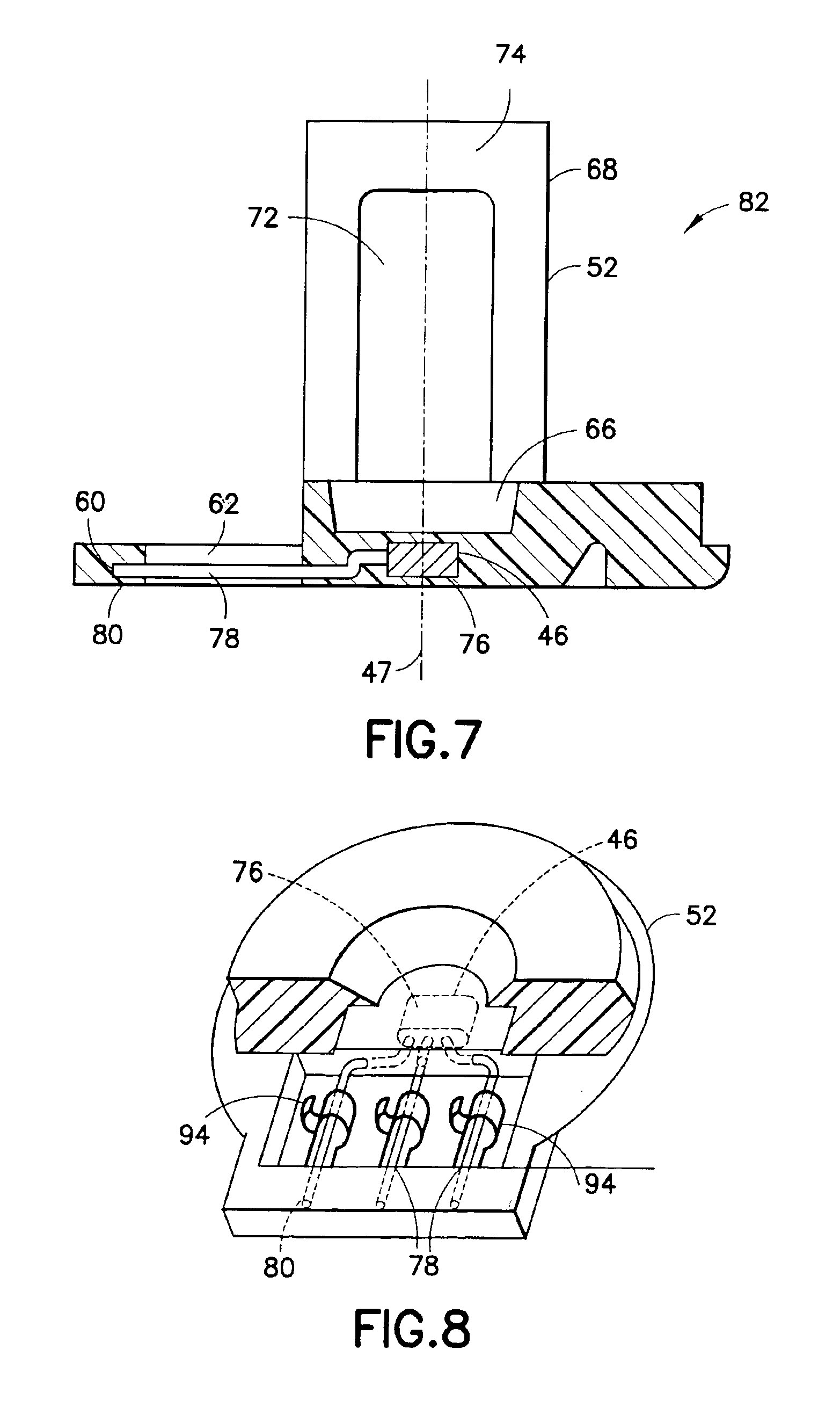 patent us6932382 - hall effect sensor assembly