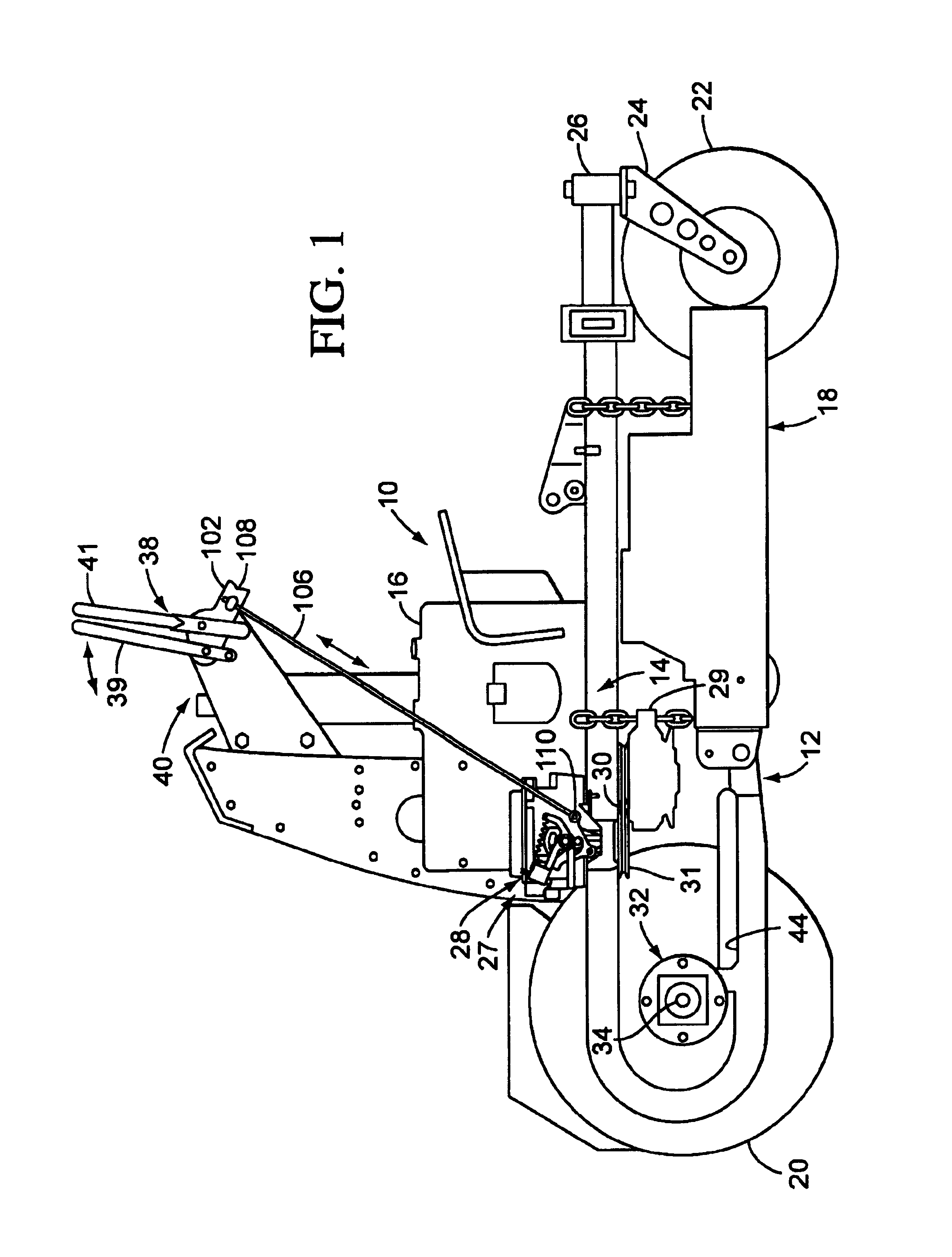 Mustang Al 306 additionally US6935106 furthermore Deere La125 Parts Diagram also General 20concepts 20i moreover Manual Transmission Clutch Pedal Diagram. on hydrostatic transmission work