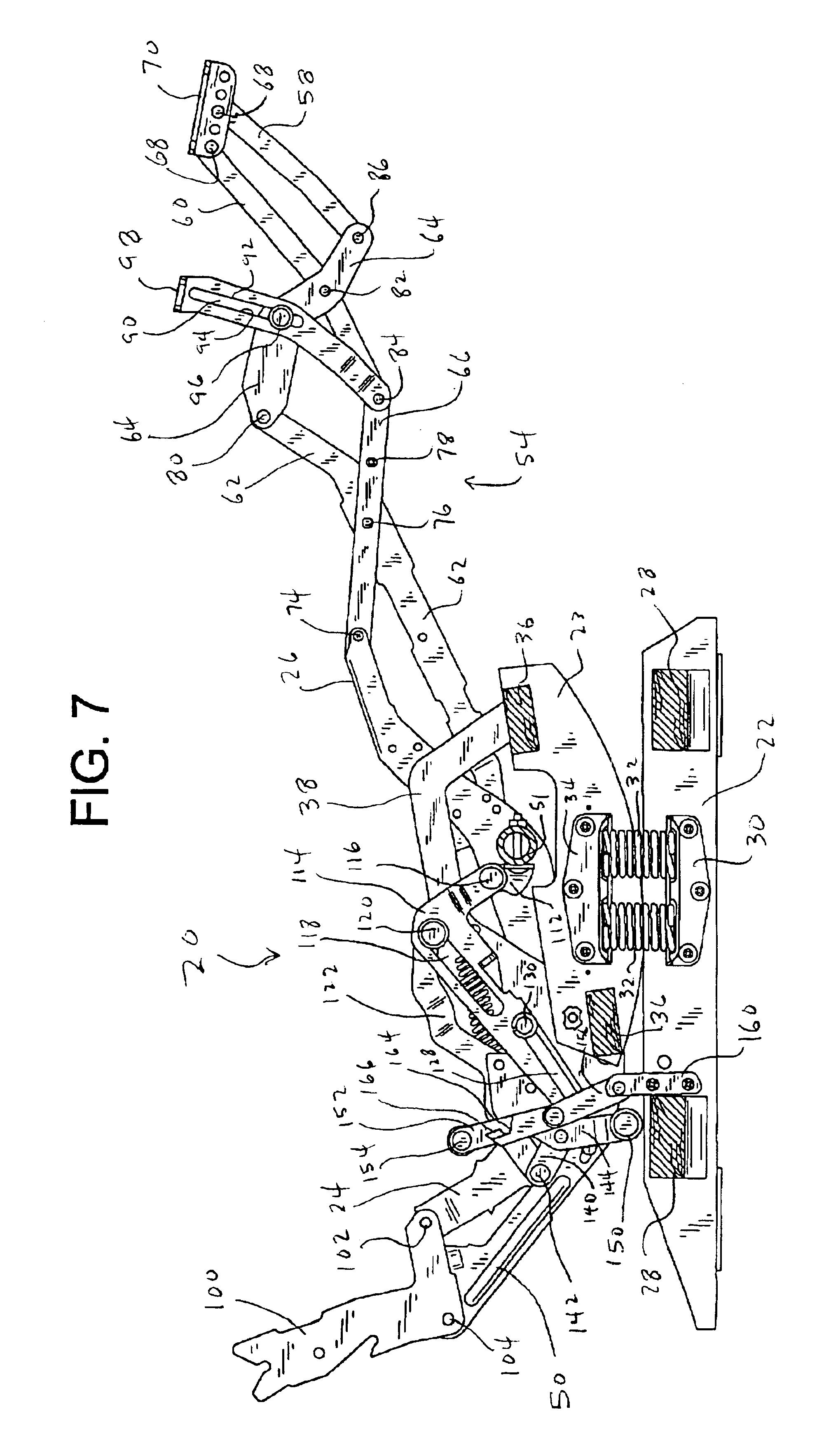 Patent Us6945599 Rocker Recliner Mechanism Google Patents