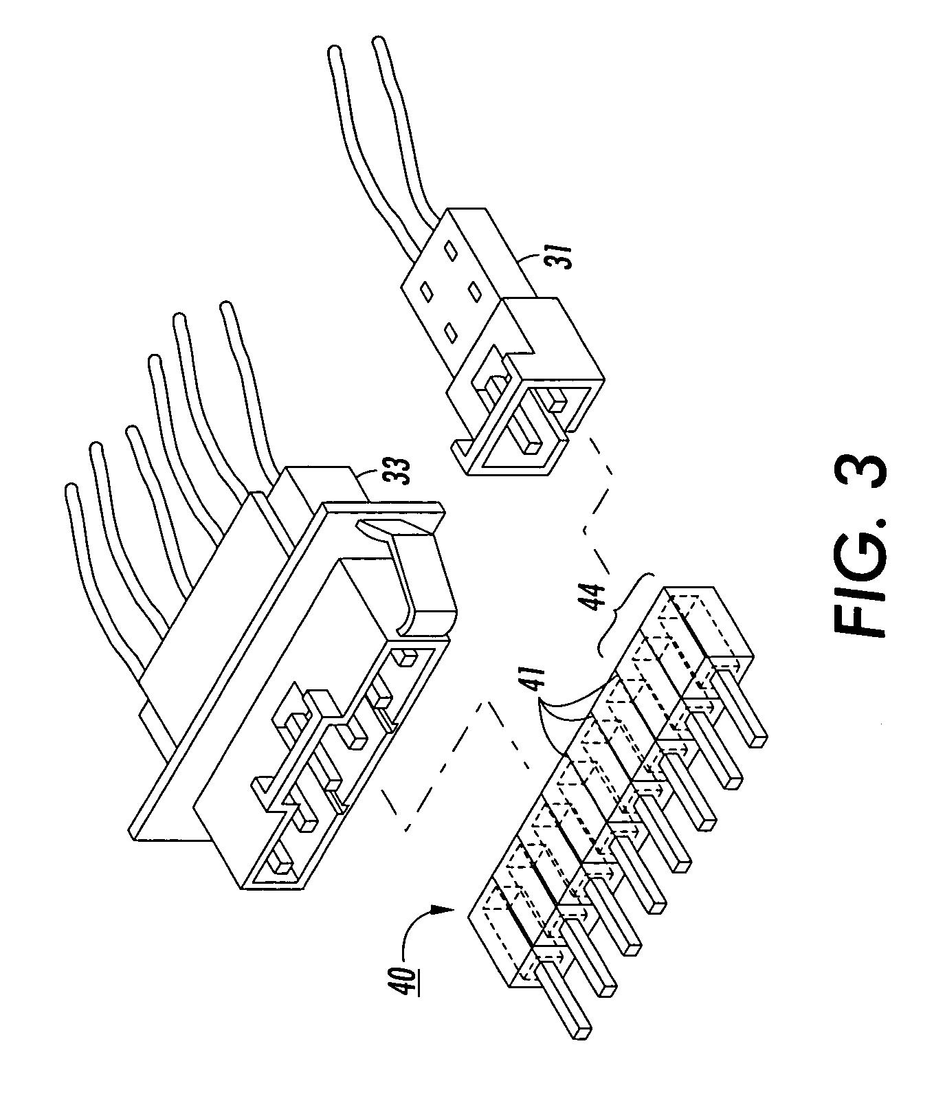 Patent Us6945822 Sacrificial Circuit Connector For