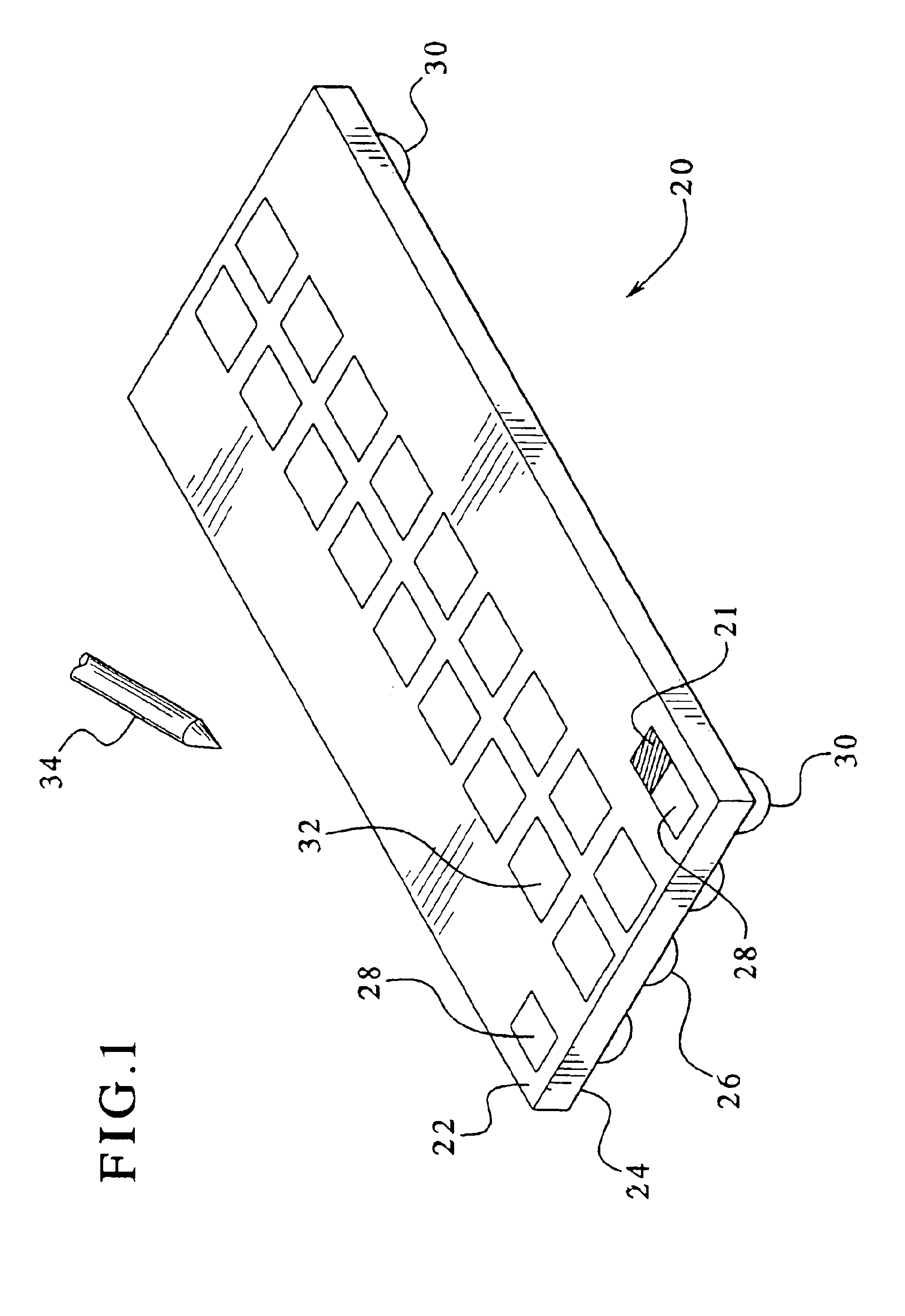 patent us6946733 - ball grid array package having testing capability after mounting