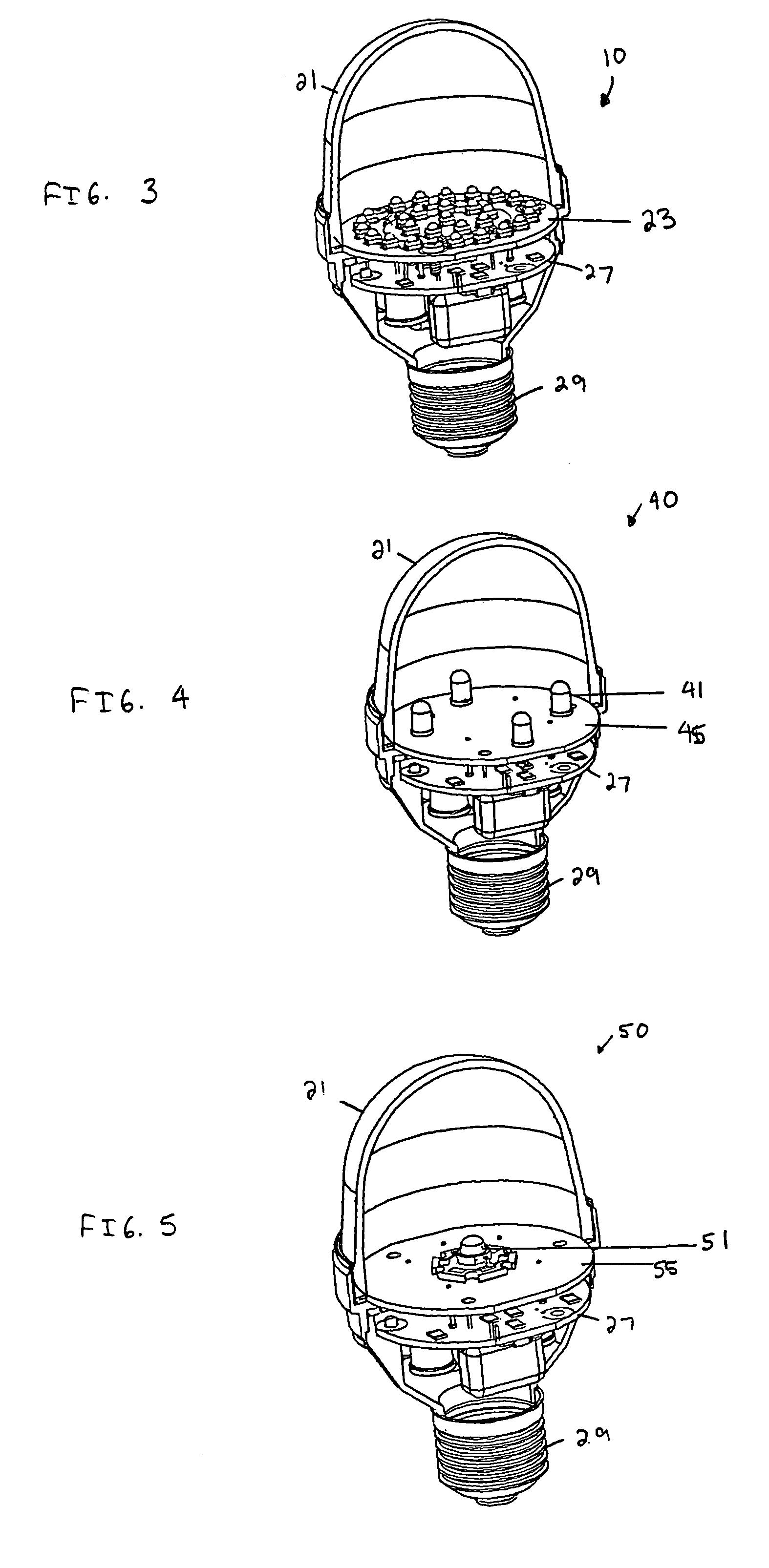 patent us6948829 - light emitting diode  led  light bulbs