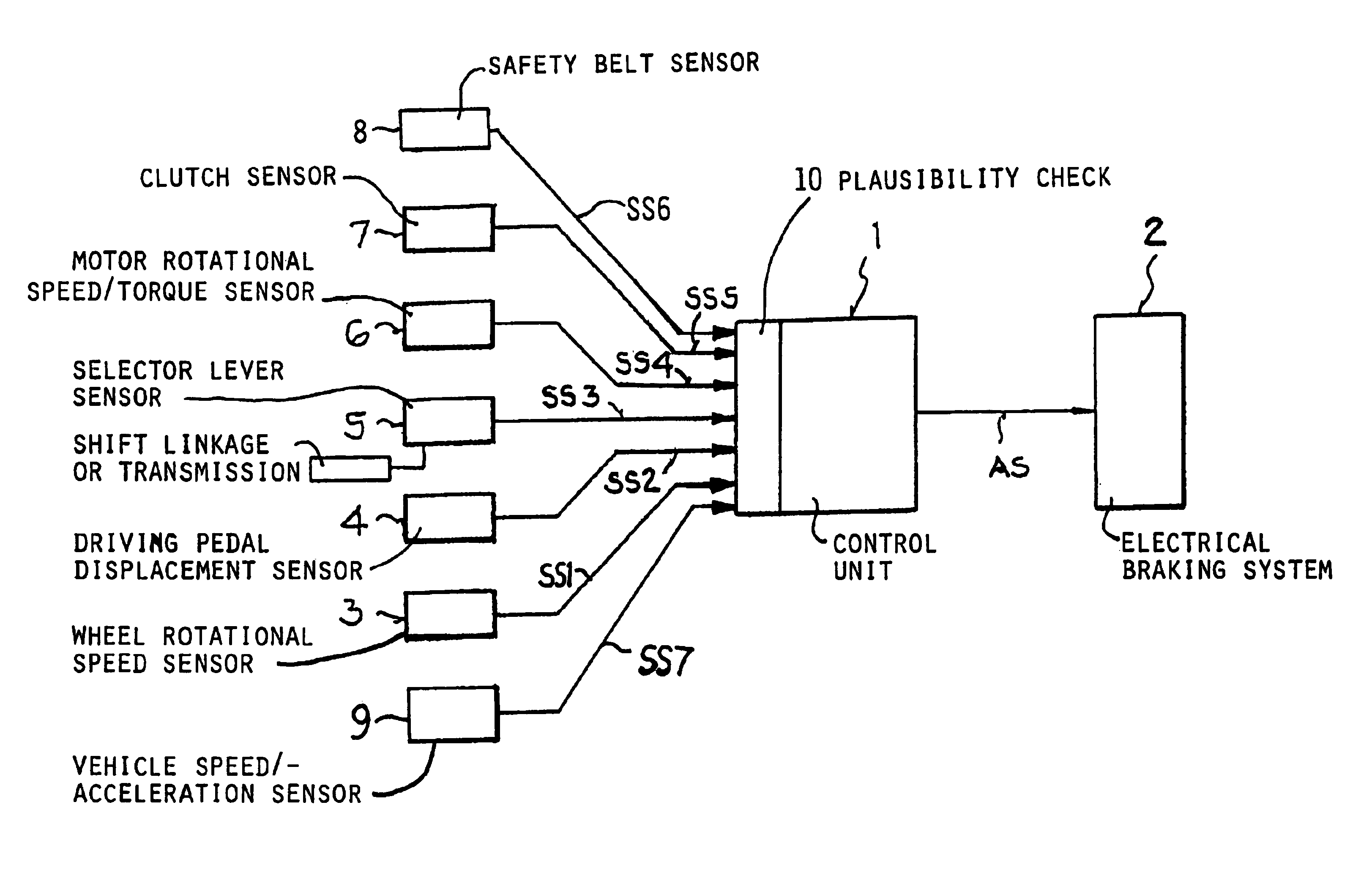 Patent Us6951528 Method For Operating A Motor Driven Vehicle Ss2 Wiring Diagram Drawing