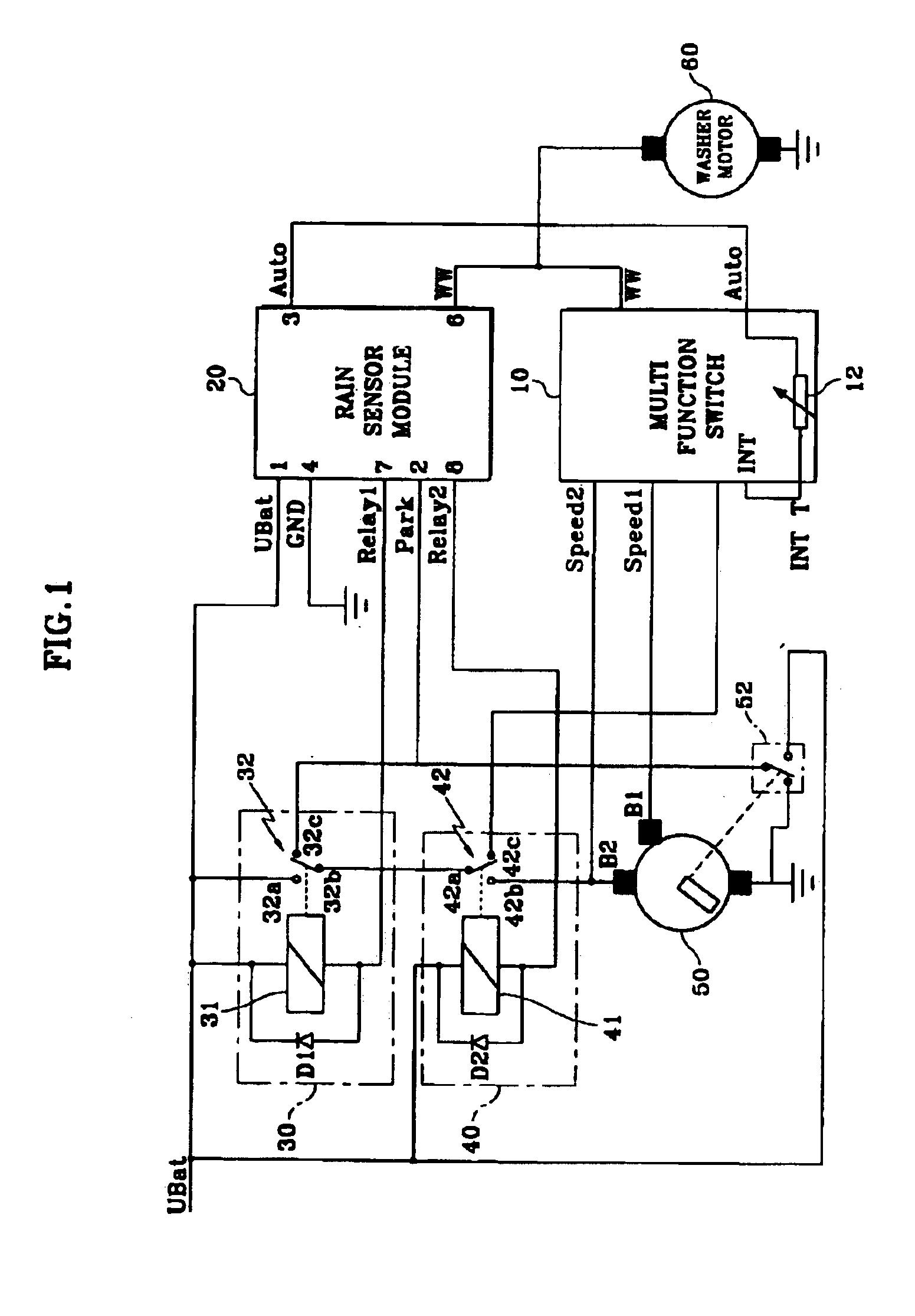 valeo wiper motor wiring diagram vw 12v wiper motor diagram wiring diagram
